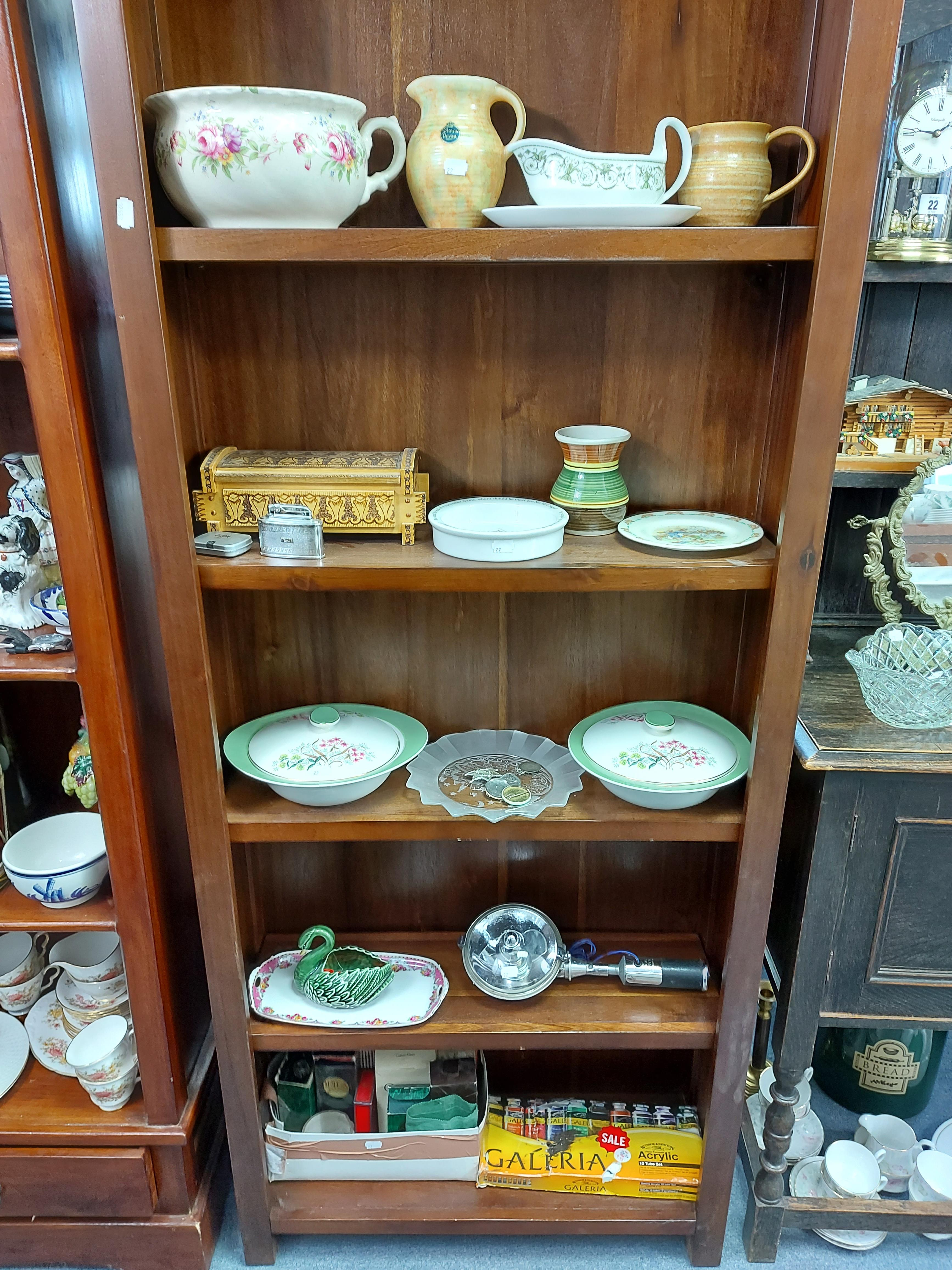 Various items of decorative china, pottery, glassware, etc. - Image 2 of 8