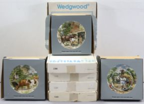 Nine various Wedgwood collector's plates; together with approximately twenty various other