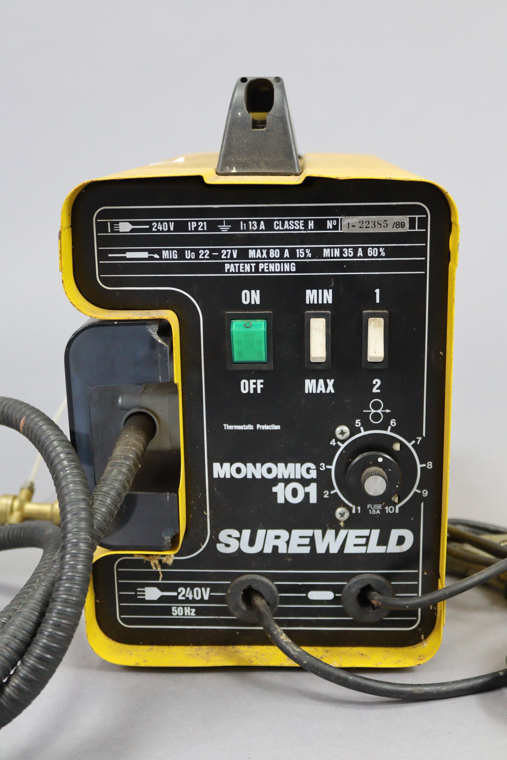 "A Sureweld ""Monomig 100"" compressor. - Image 2 of 4"