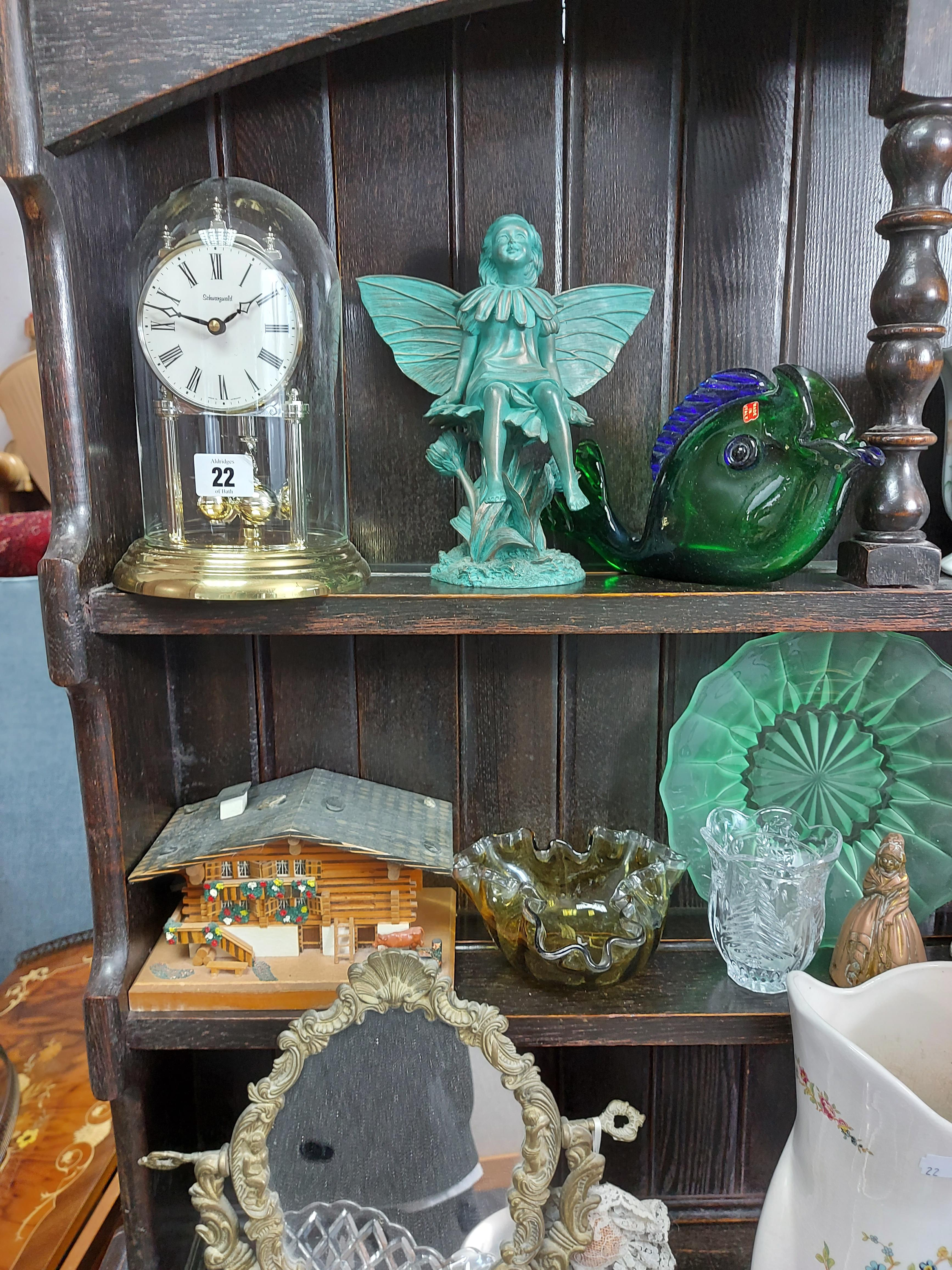 Various items of decorative china, pottery, glassware, etc. - Image 7 of 8