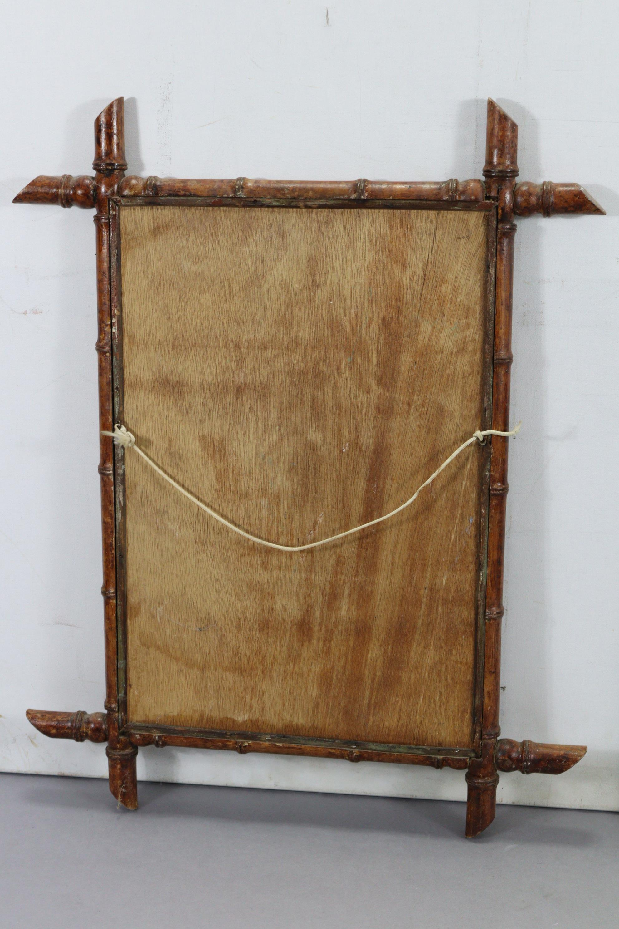 """A continental-style gilt frame pier glass, 31"""" x 16""""; together with two rectangular wall mirrors. - Image 10 of 10"""