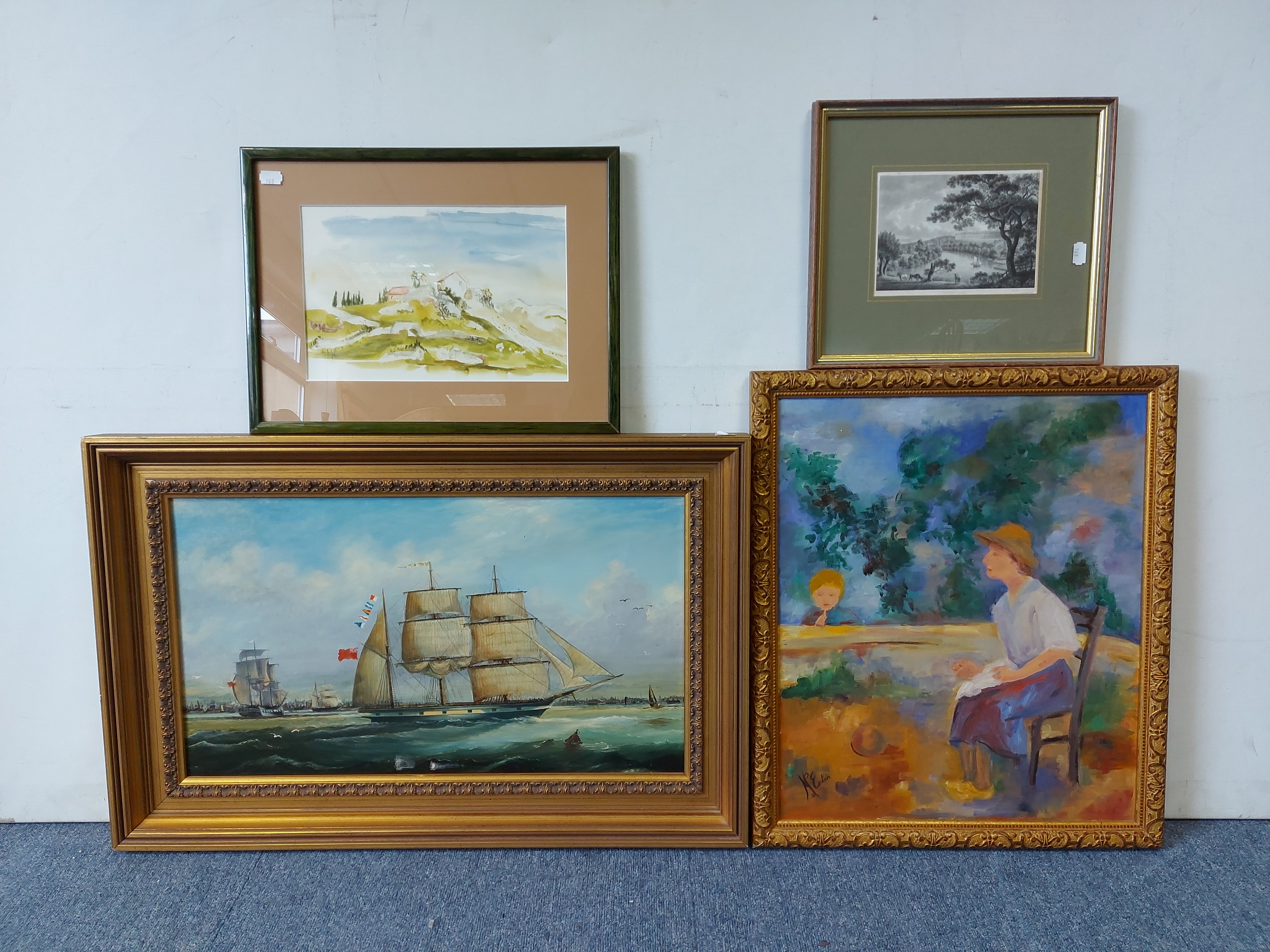 Various decorative paintings & prints. - Image 7 of 7