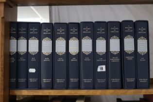 """A part set of folio society volumes """"A History of England"""" (11 of 12)."""