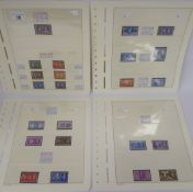 Postage stamps, Great Britain: King George VI commemoratives, comprising Coronation, Victory,