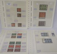 Postage stamps, Great Britain: King George commemorative issues,