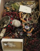 Costume jewellery: to include bead necklaces;
