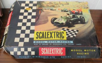 A Mini Models Scalextric model motor racing set boxed OS5