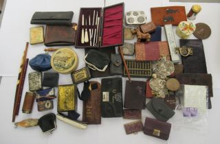 A miscellaneous collection of purses,