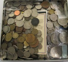 An uncollated collection of mainly 20thC British coins: to include Crowns CS
