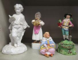 Decorative ceramics, viz.