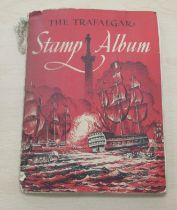 A 'schoolboys' stamp album,