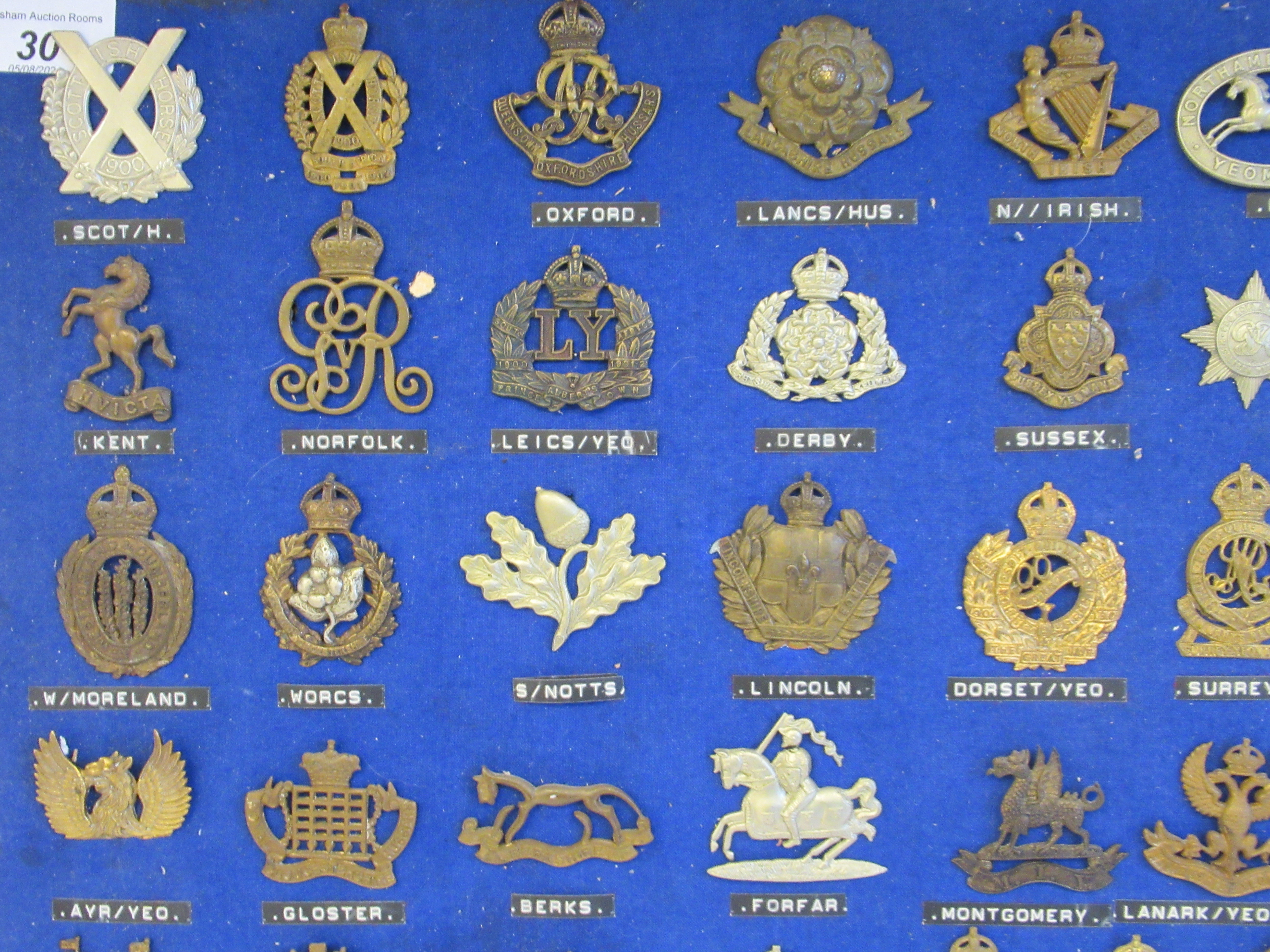 Approx. fifty military cap badges and other insignia, some copies: to include The Lancashire - Image 2 of 6