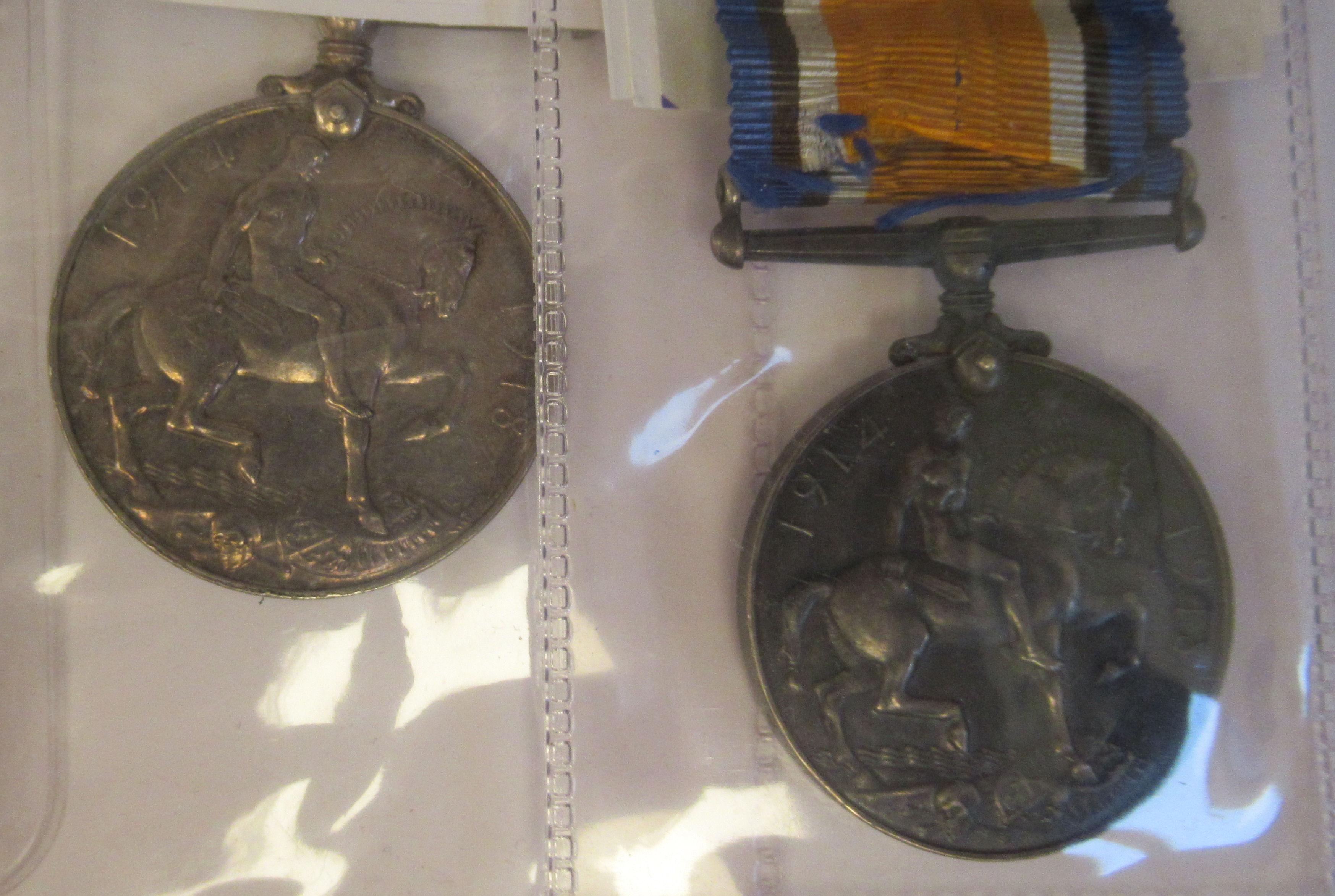 Twenty-four Great War 1914-1918 British service medals on ribbons, viz. 46481, Gnr. E. Williamson - Image 14 of 16