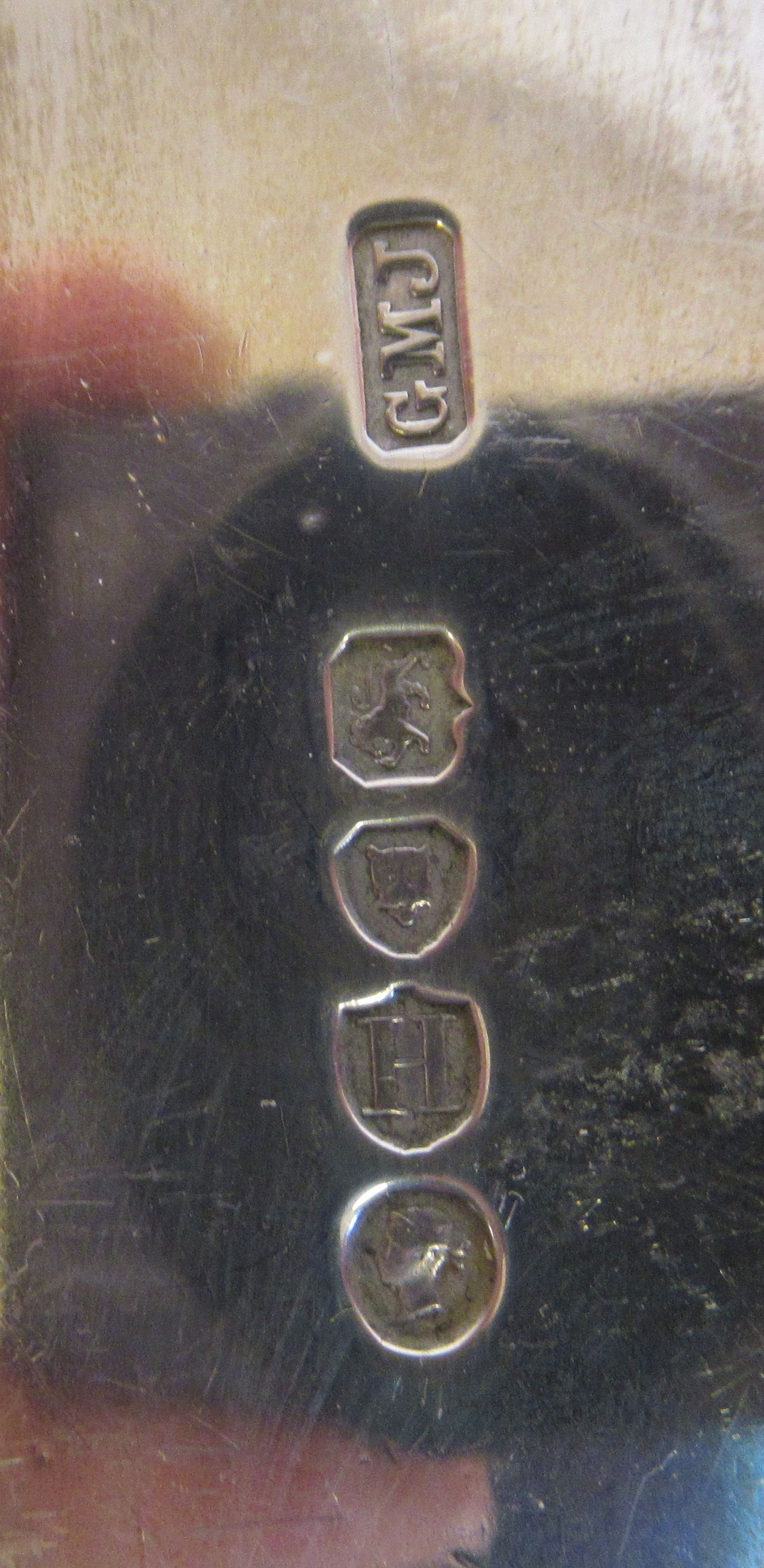 A late Victorian silver fiddle pattern basting spoonGeorge Maudsley JacksonLondon 1883 - Image 3 of 3