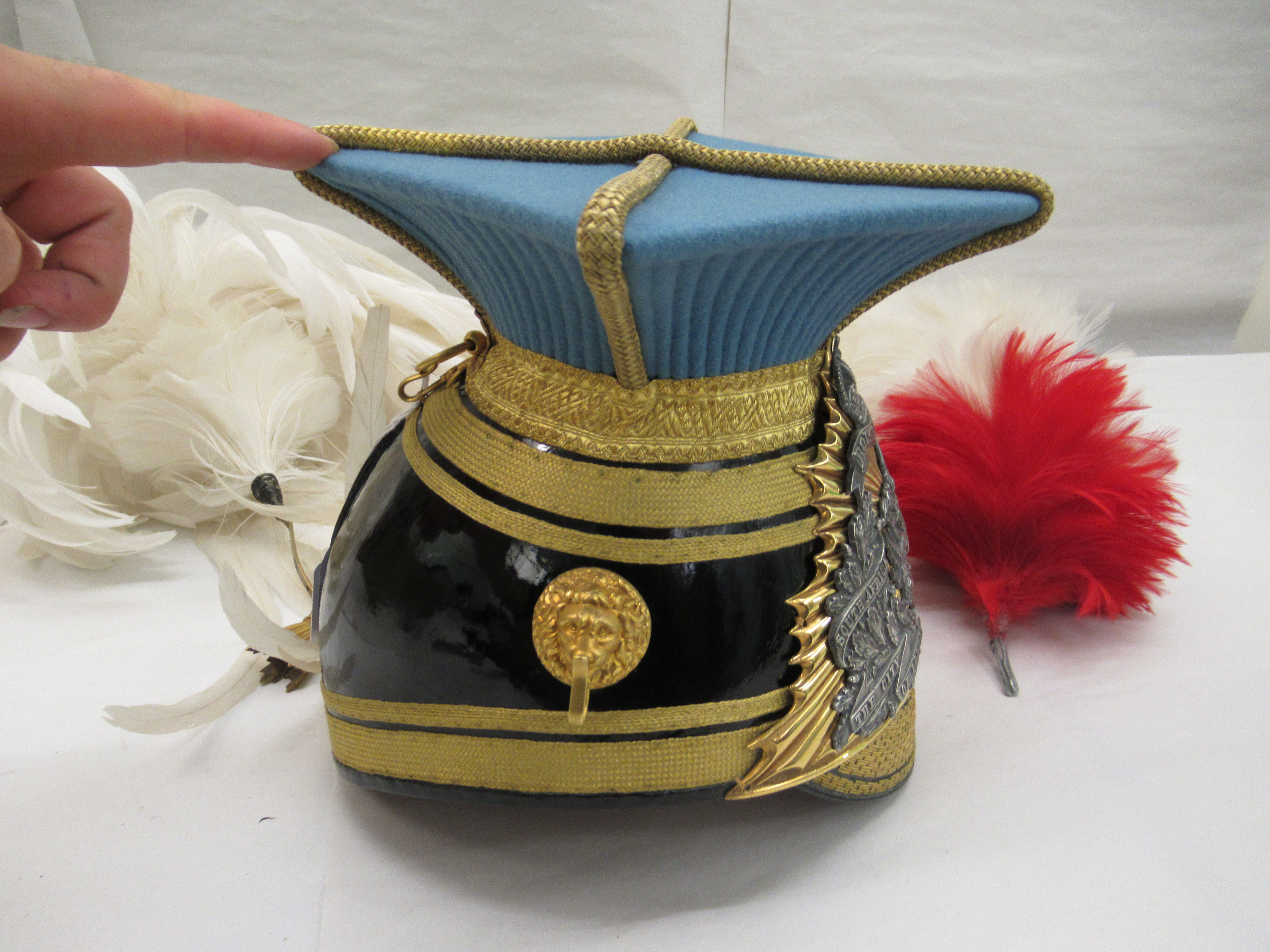 A City of London officer's lance czapka and plume(Please Note: this lot is offered subject to - Image 2 of 10