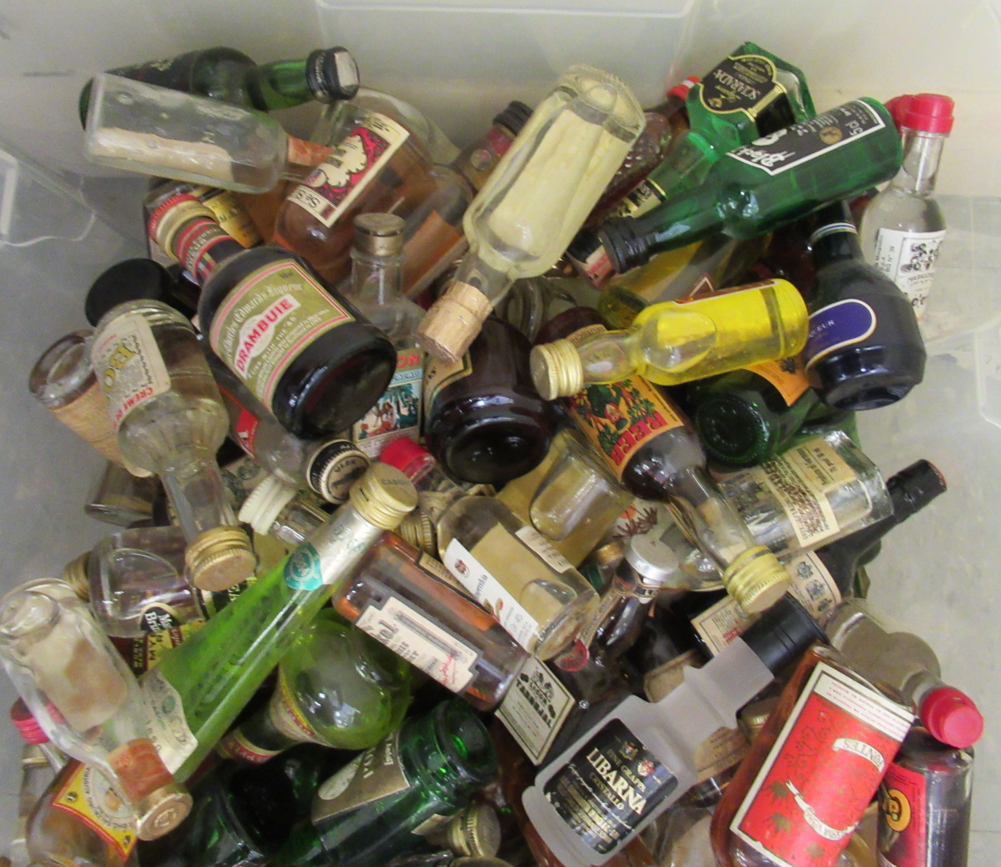 Approx. 300 spirit miniatures: to include whisky and liqueurs - Image 2 of 3