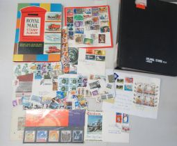 Uncollated, mainly used British postage stamps and First Day covers; and other European issues