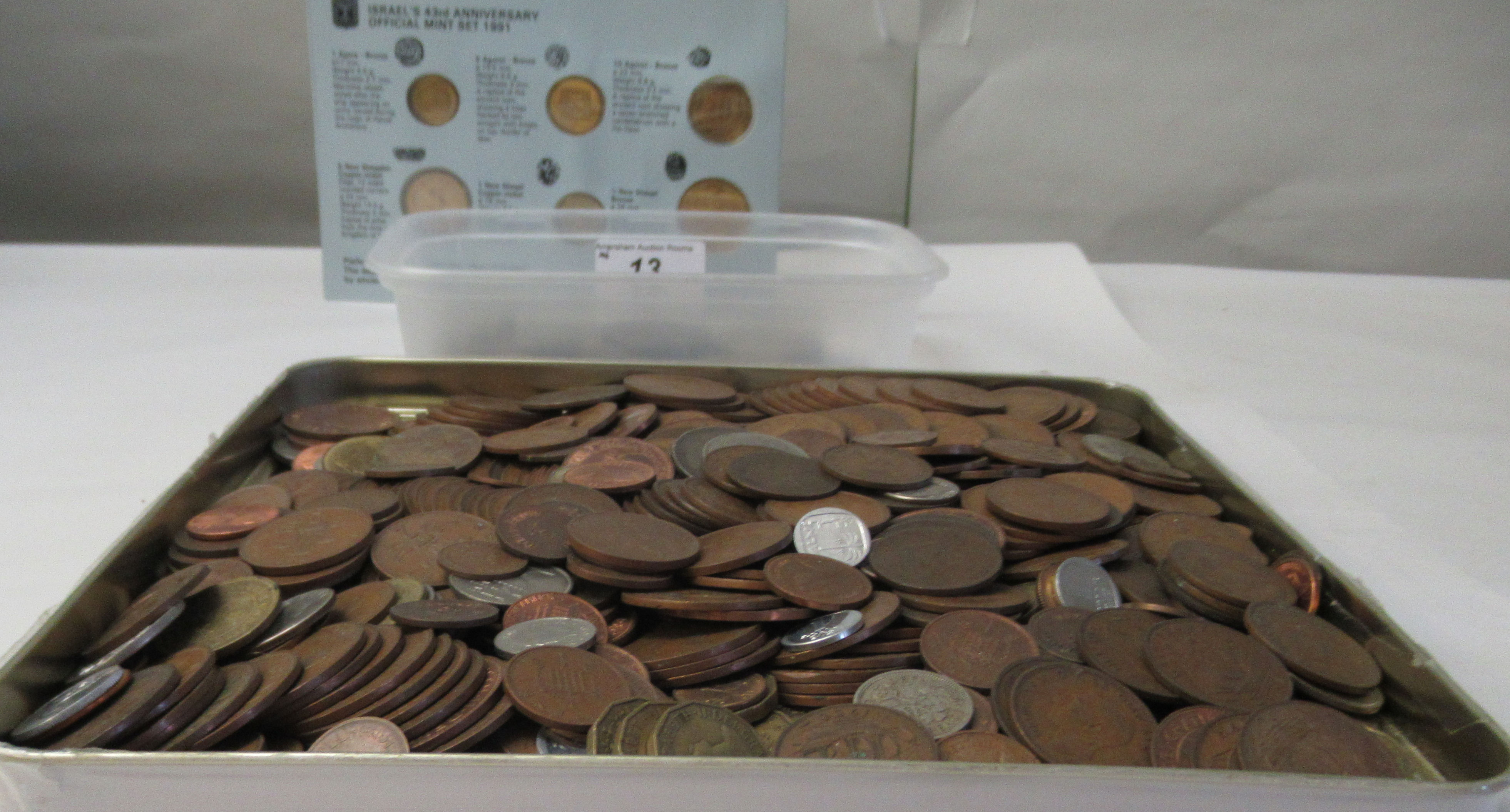 British pre-decimal and foreign coins: to include an 1883 USA one dollar