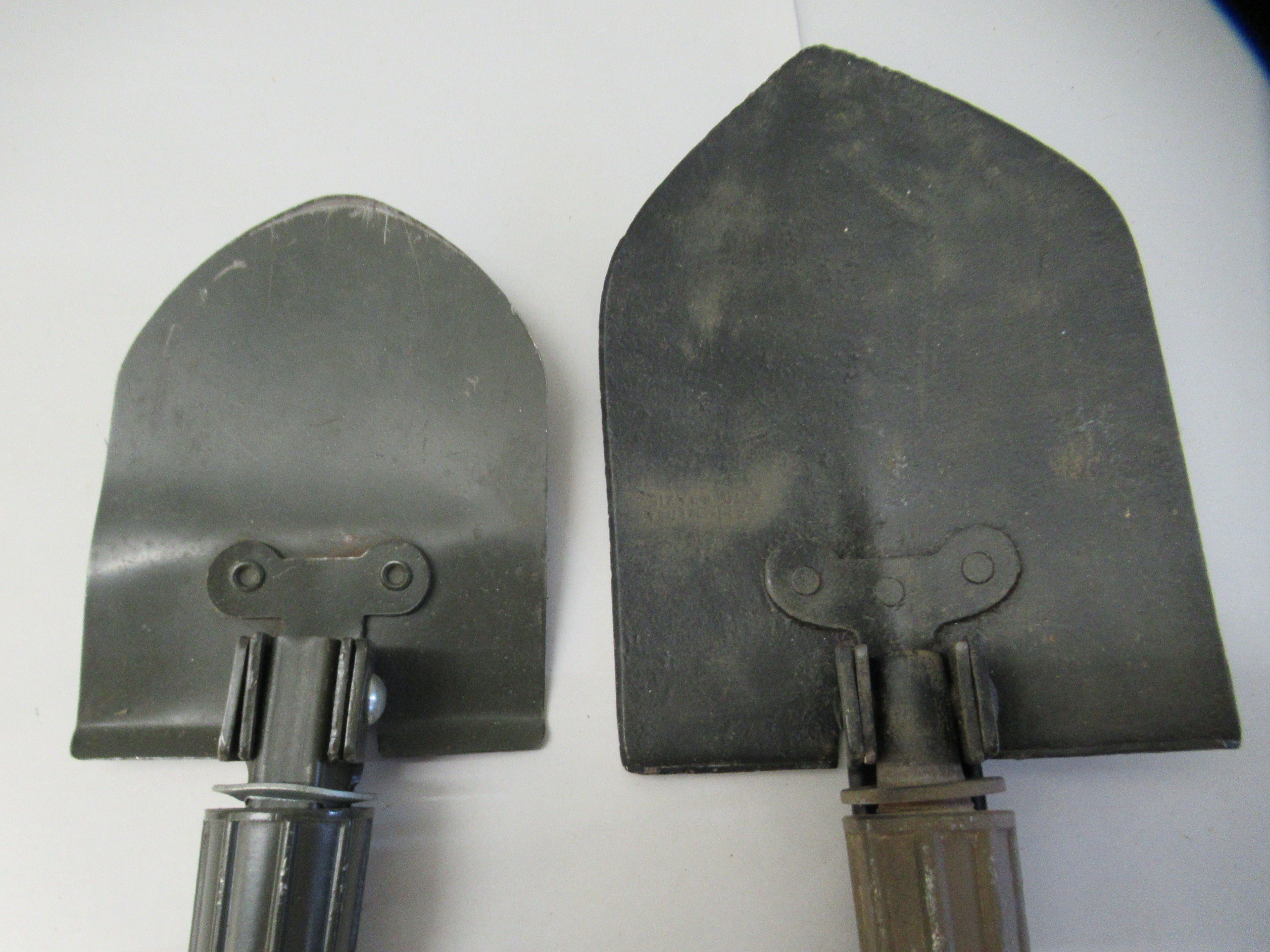 Military style and other daggers; and two trenching tools (Please Note: this lot is offered subject - Image 4 of 16