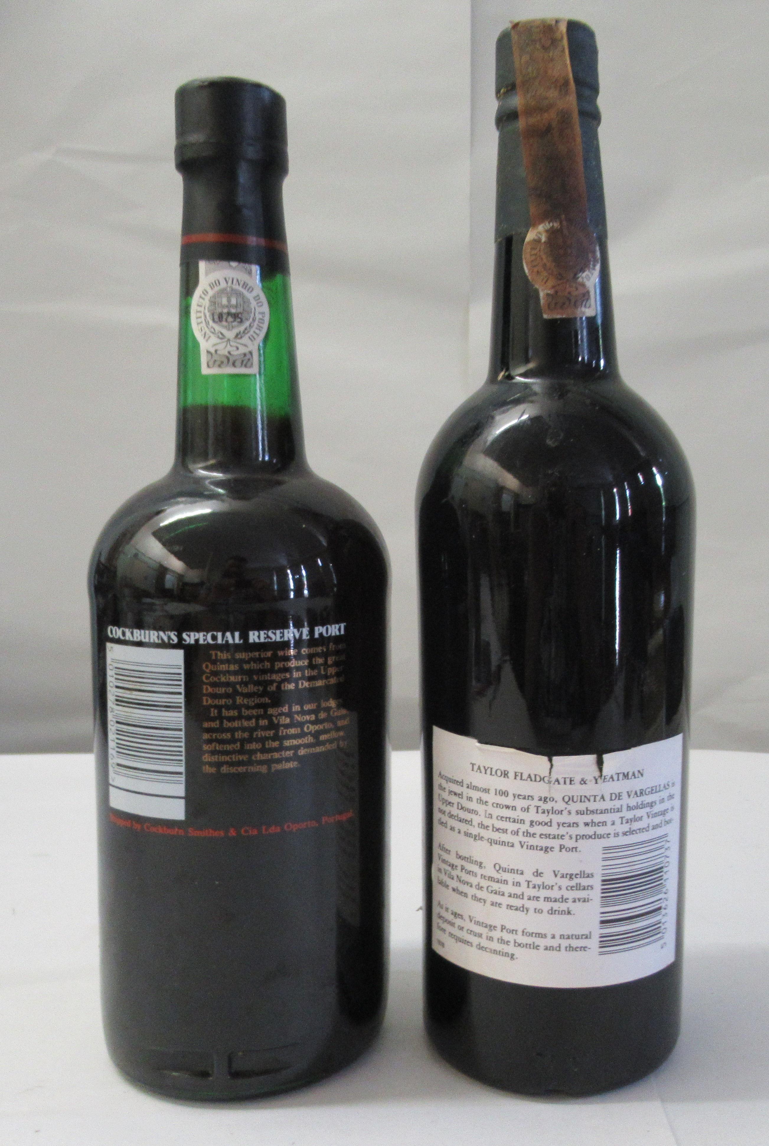 A bottle of Taylor's 1978 vintage port; and another bottle of Cockburn's port - Image 4 of 5
