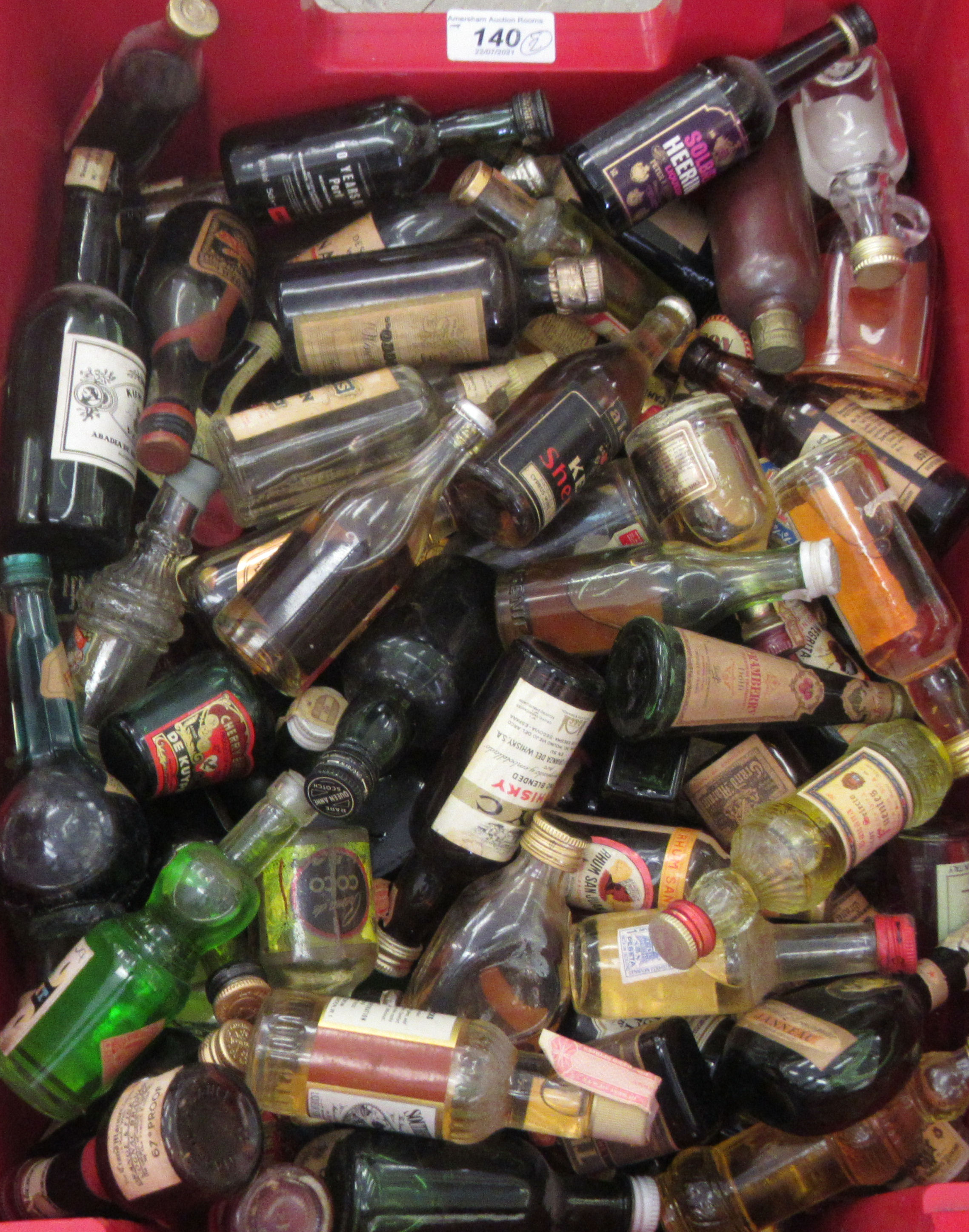 Approx. 300 spirit miniatures: to include whisky and liqueurs - Image 2 of 5