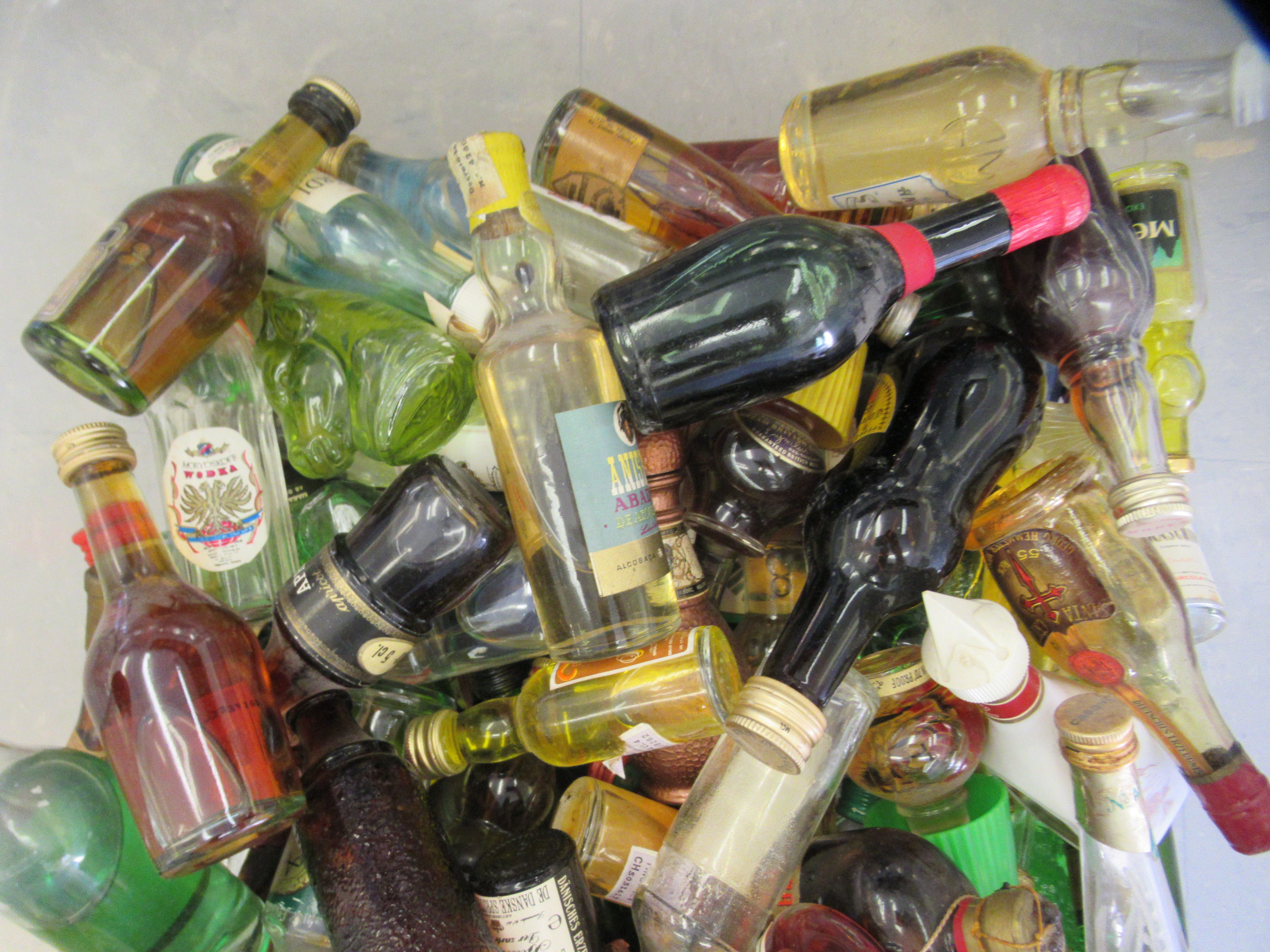 Approx. 250 spirit miniatures: to include whisky and liqueurs - Image 2 of 3