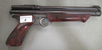 A Crossman Medalist II, model 1300 .22 calibre air pistol