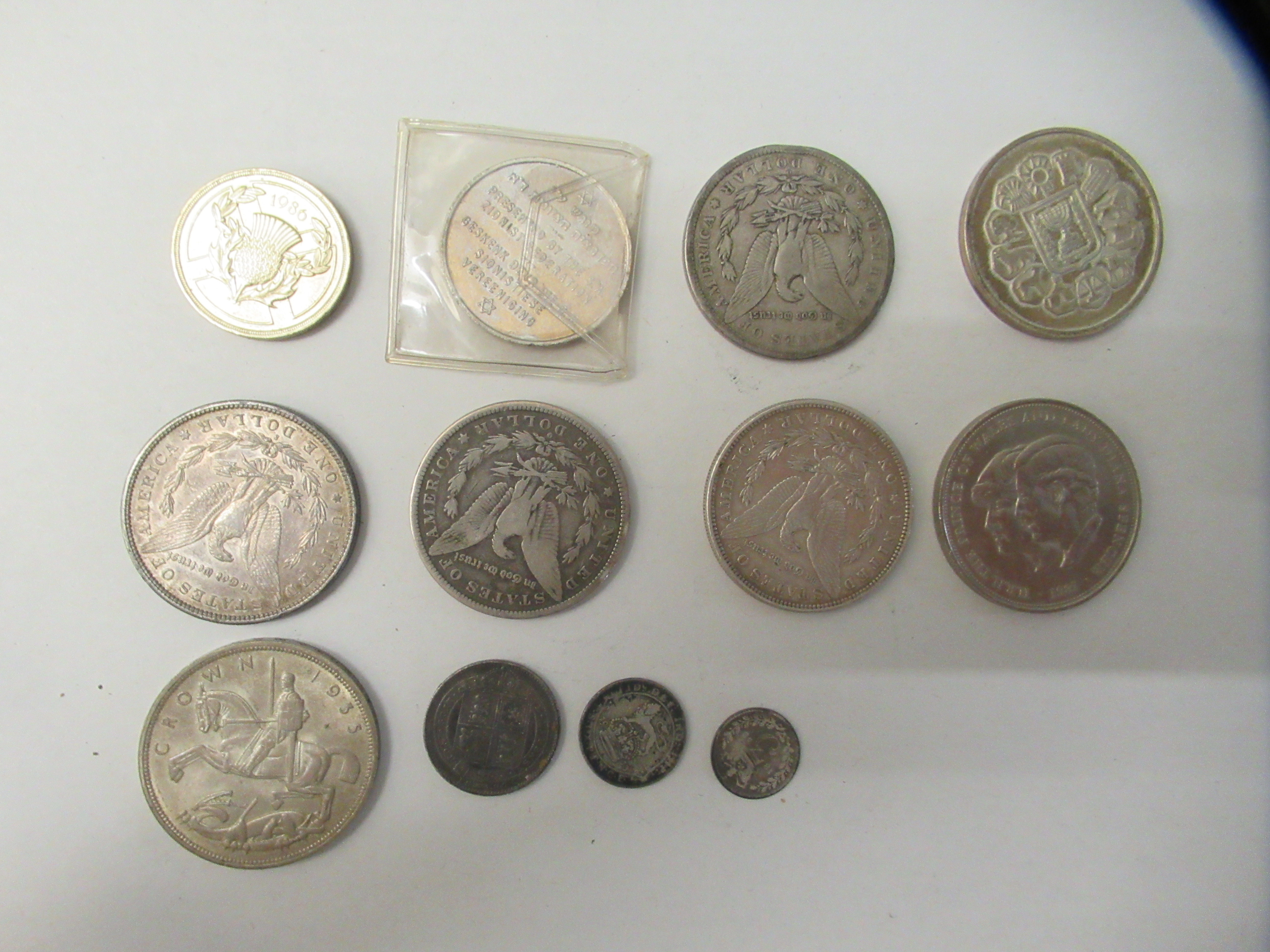 British pre-decimal and foreign coins: to include an 1883 USA one dollar - Image 3 of 7