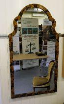 "A Ralph Lauren Antique Range 'Taj Palace' mirror, set in a faux tortoiseshell frame 52"" x 29"""