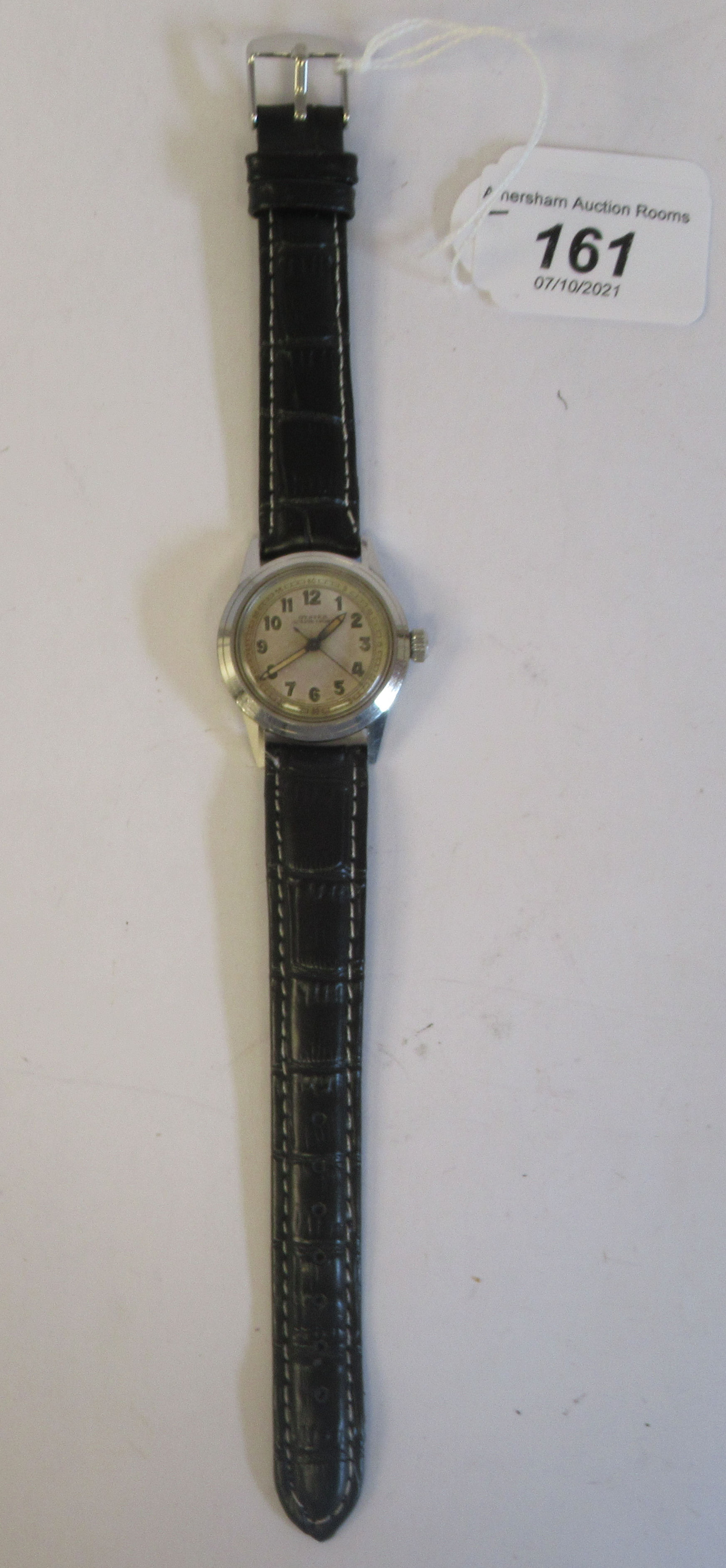 A 1940s boys Tudor Rolex Oyster Junior Sport stainless steel cased wristwatch, model 4454, the - Image 2 of 5