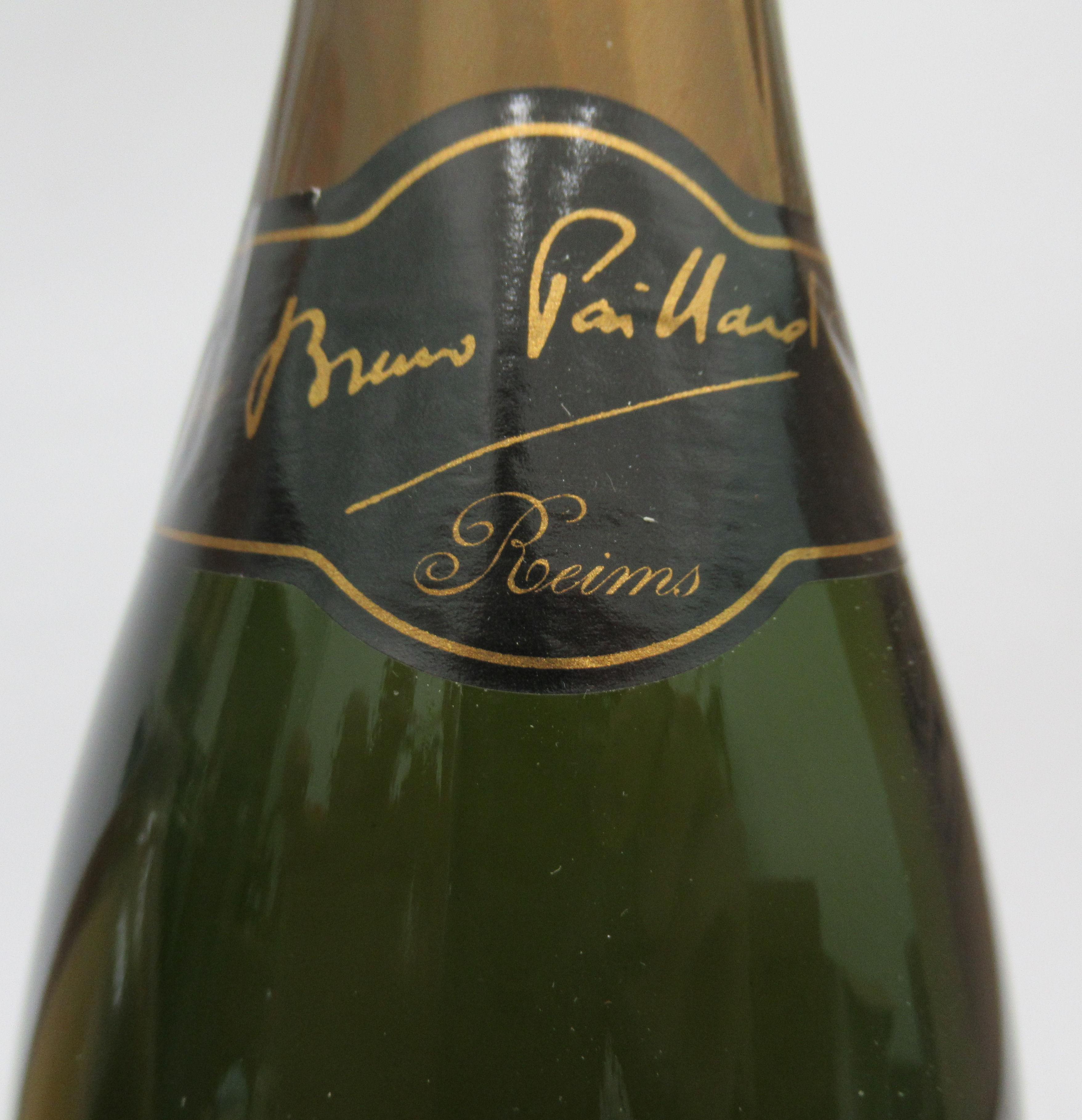 Wine, Champagne, viz. a Pol Roger; a Ruinart Blanc de Blancs; and a 1996 Bruno Paillard each boxed - Image 5 of 6