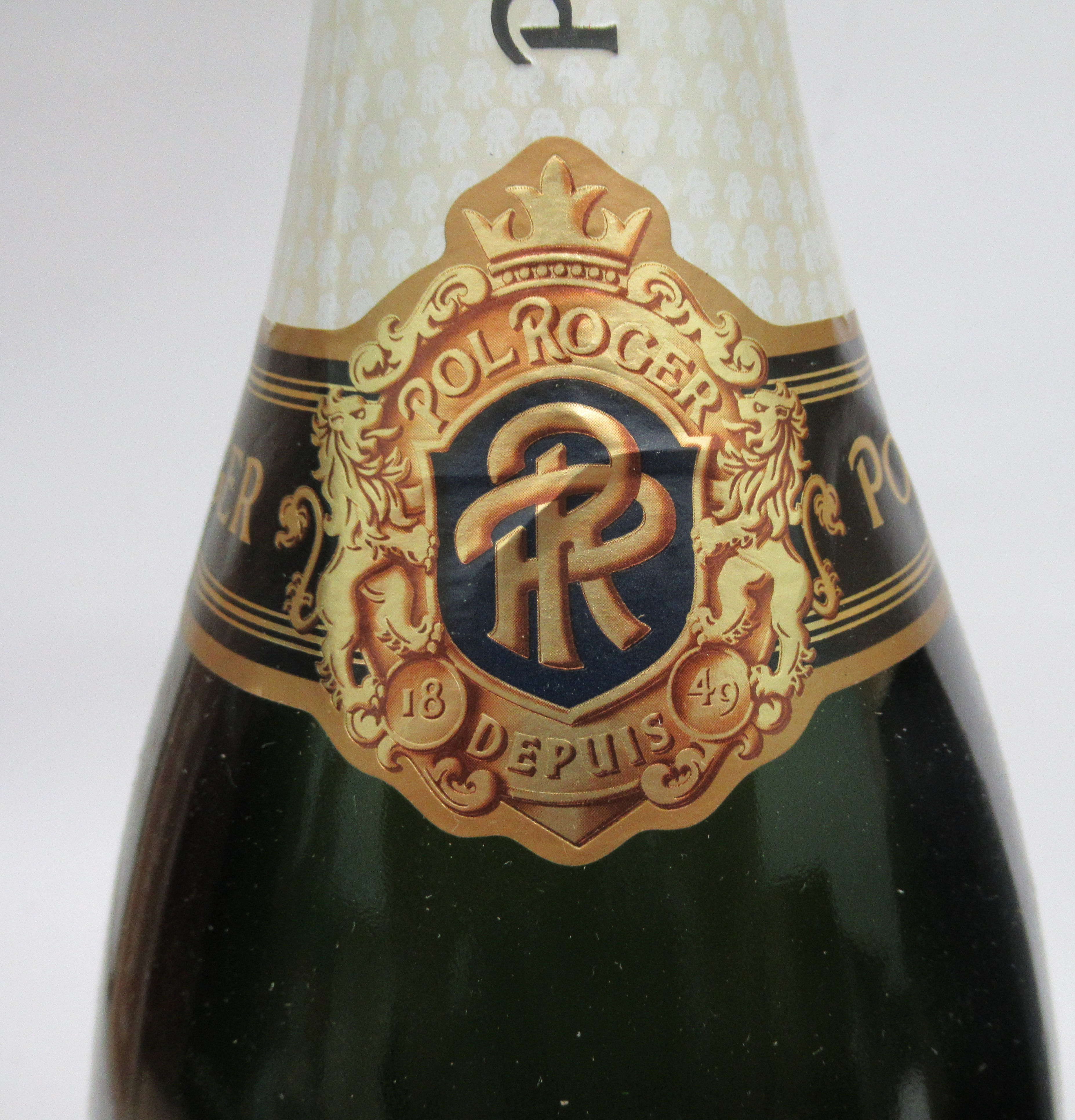 Wine, two magnums of Champagne, viz. a 1990 Laurent Perrier; and a Pol Roger Extra Cuvee Reserve - Image 2 of 4