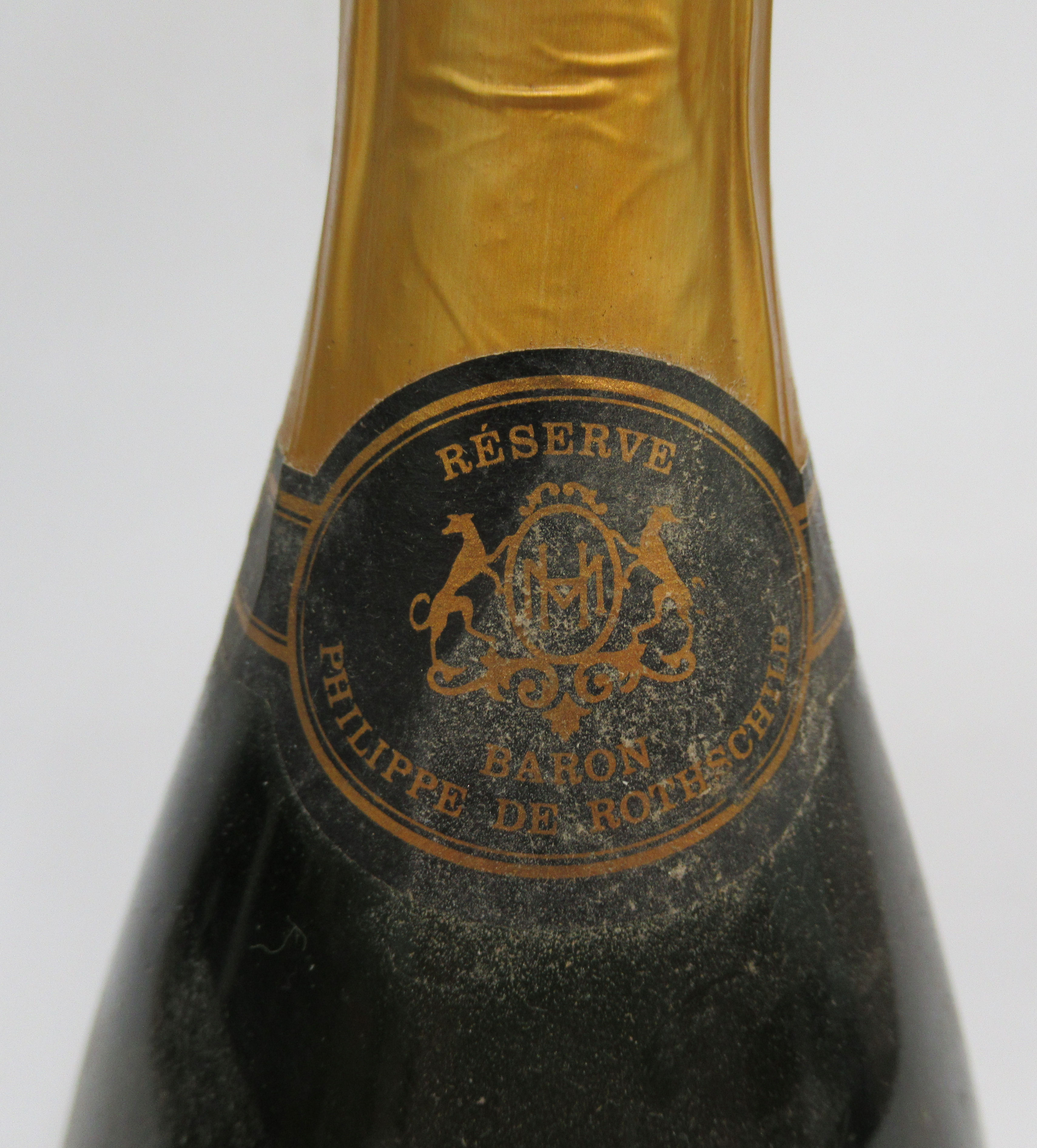Wine, a bottle of 1973 Henriot Reserve Baron Philippe de Rothschild Champagne - Image 2 of 3