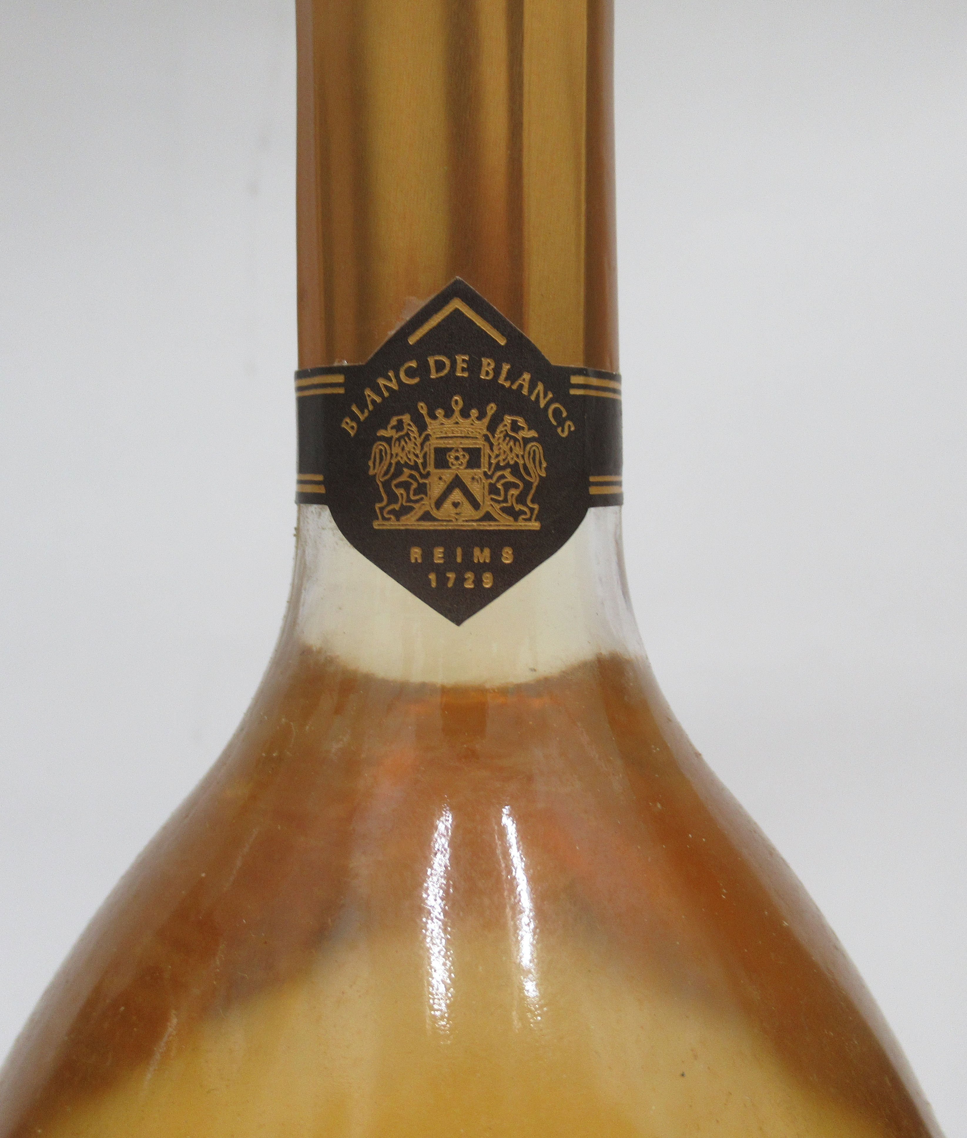 Wine, Champagne, viz. a Pol Roger; a Ruinart Blanc de Blancs; and a 1996 Bruno Paillard each boxed - Image 4 of 6