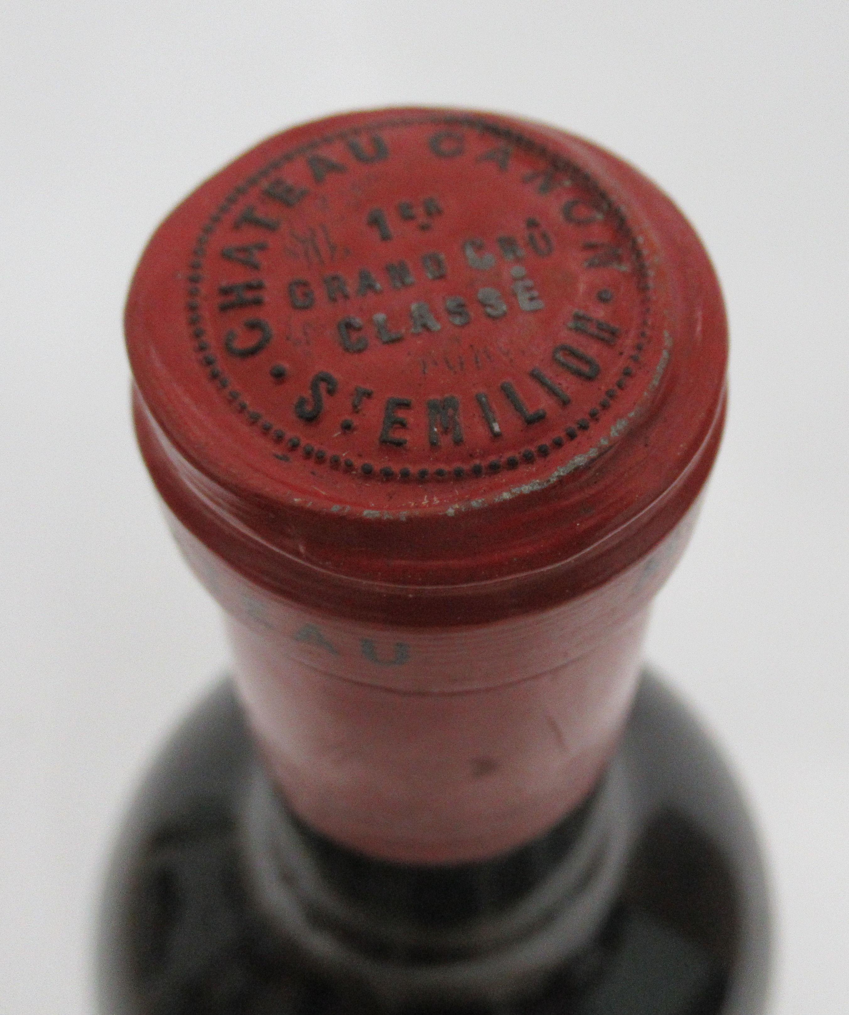 Wine, a magnum of 1982 Chateau Canon Grand Cru - Image 3 of 3