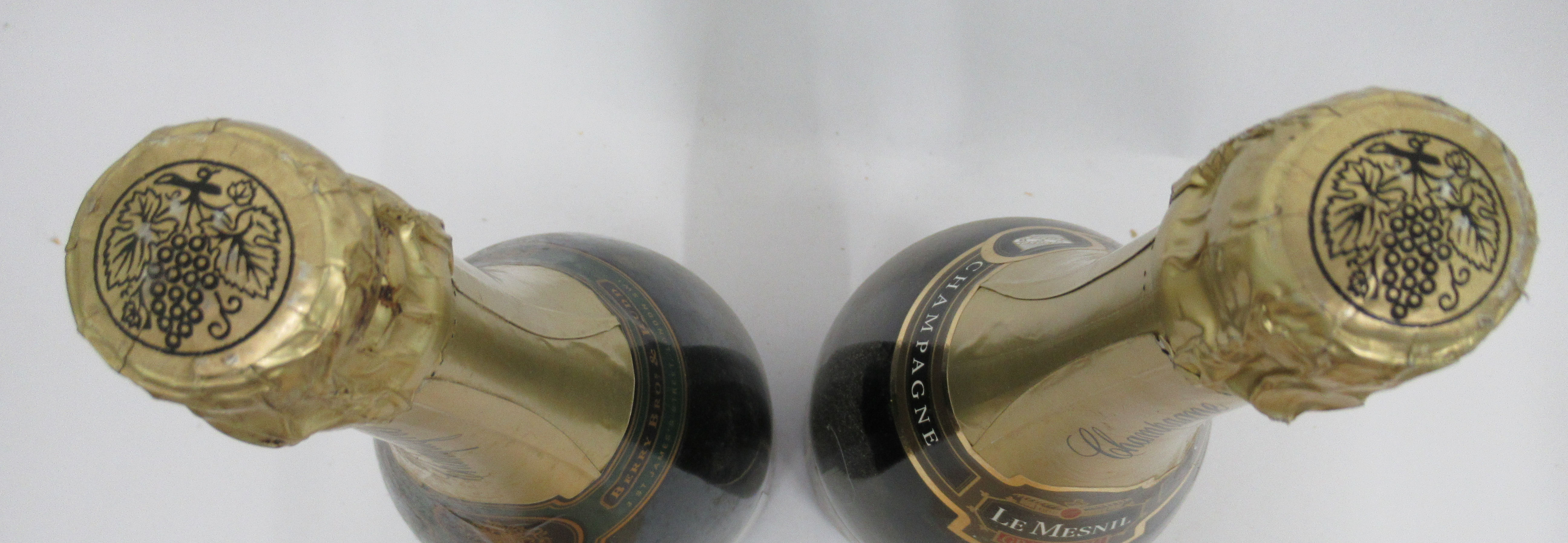 Wine, two Magnums of Champagne, viz. a Berry Bothers & Rudd; and a Le Mesnil Grand Cru - Image 4 of 4