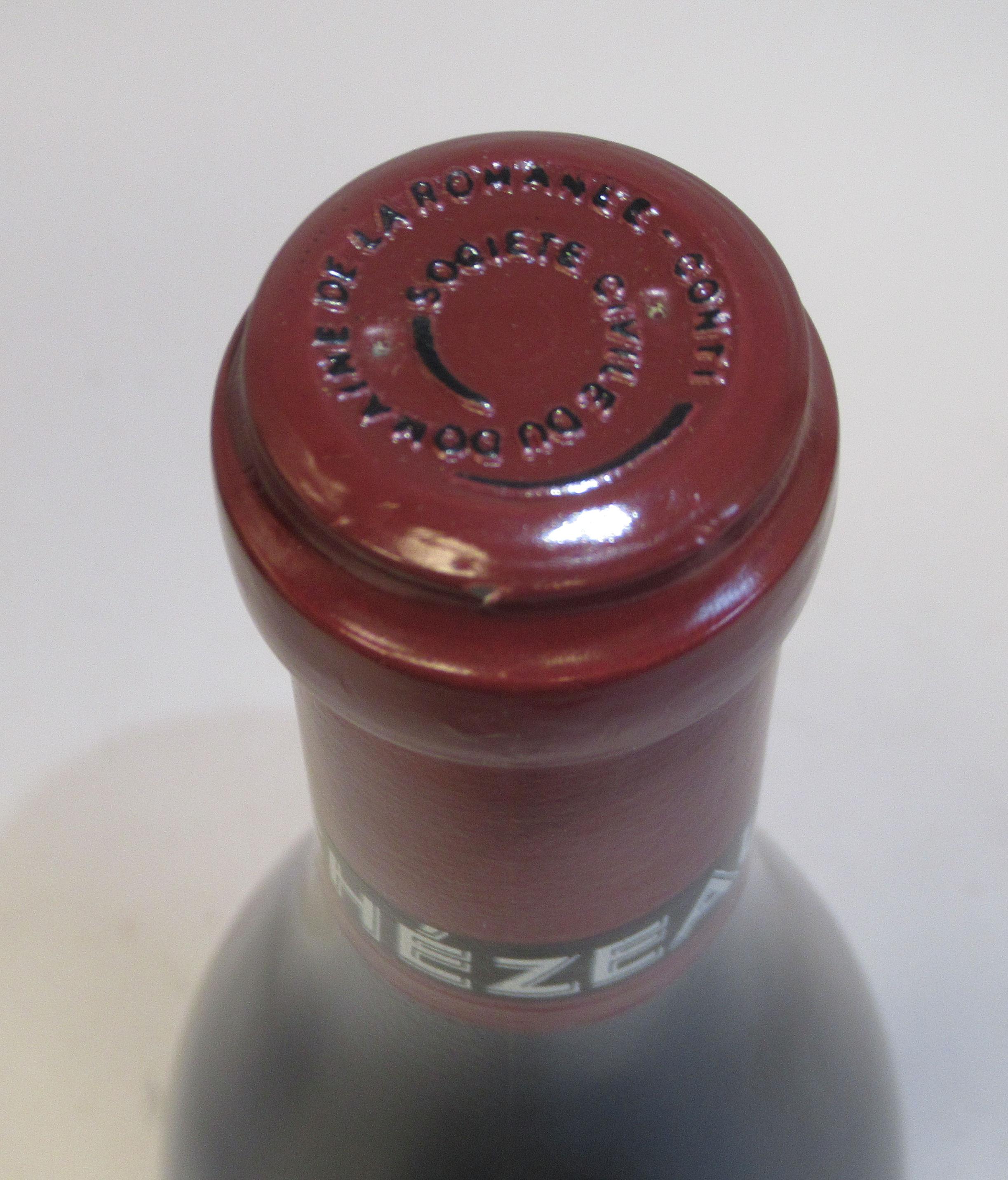 Wine, a bottle of 1996 Echezeaux Domaine De La Romanee-Conti (bottle number 06150) - Image 3 of 3