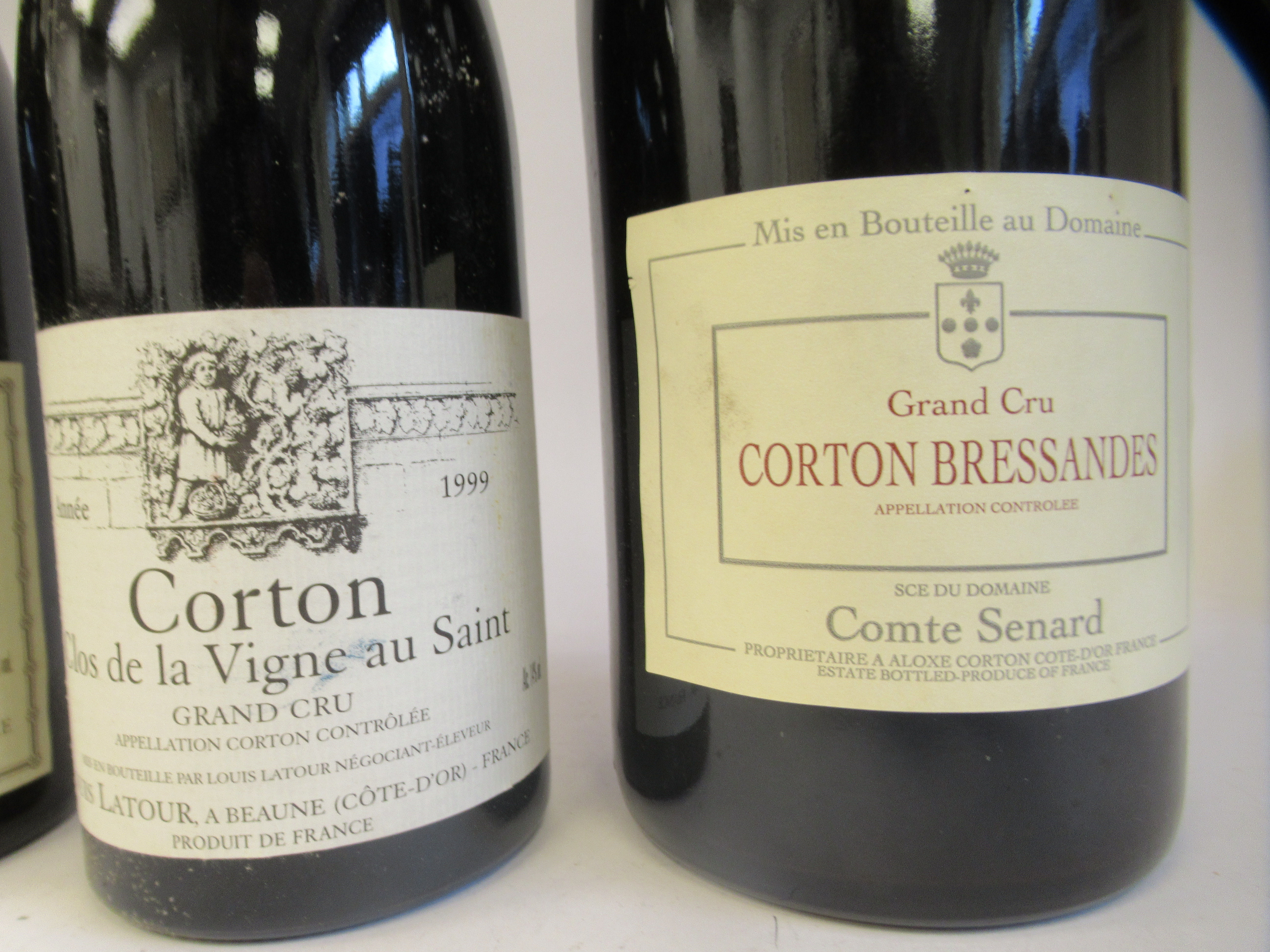 Wine, three bottles of 1999 Chateau Corton; and a magnum of Corton Bressandes Grand Cru - Image 2 of 5