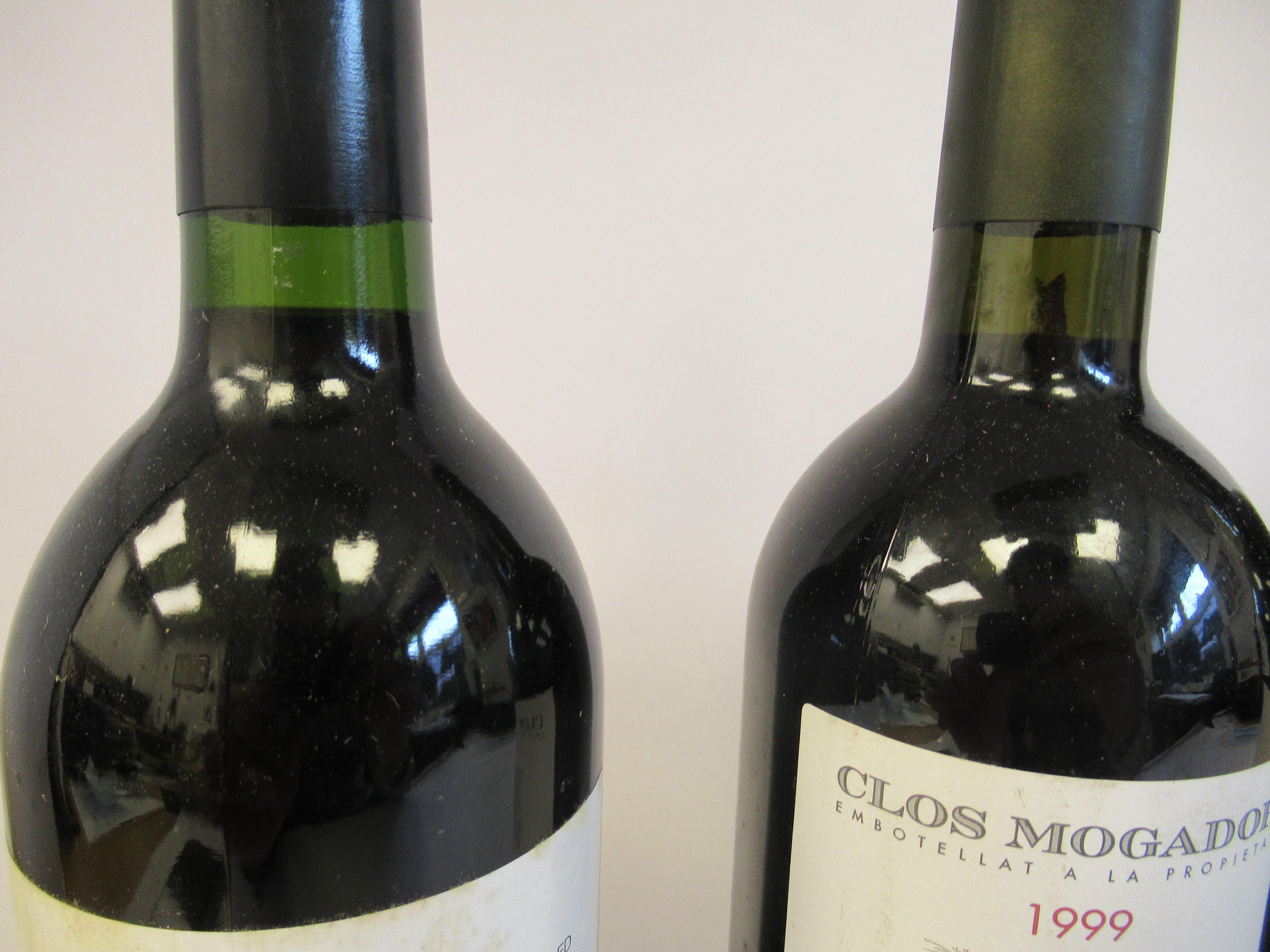 Wine, viz. a 1999 Dalmau; a 1999 Clos Mogador; a 1995 Roda 1; and a 1999 Mayor de Ondarre - Image 2 of 3