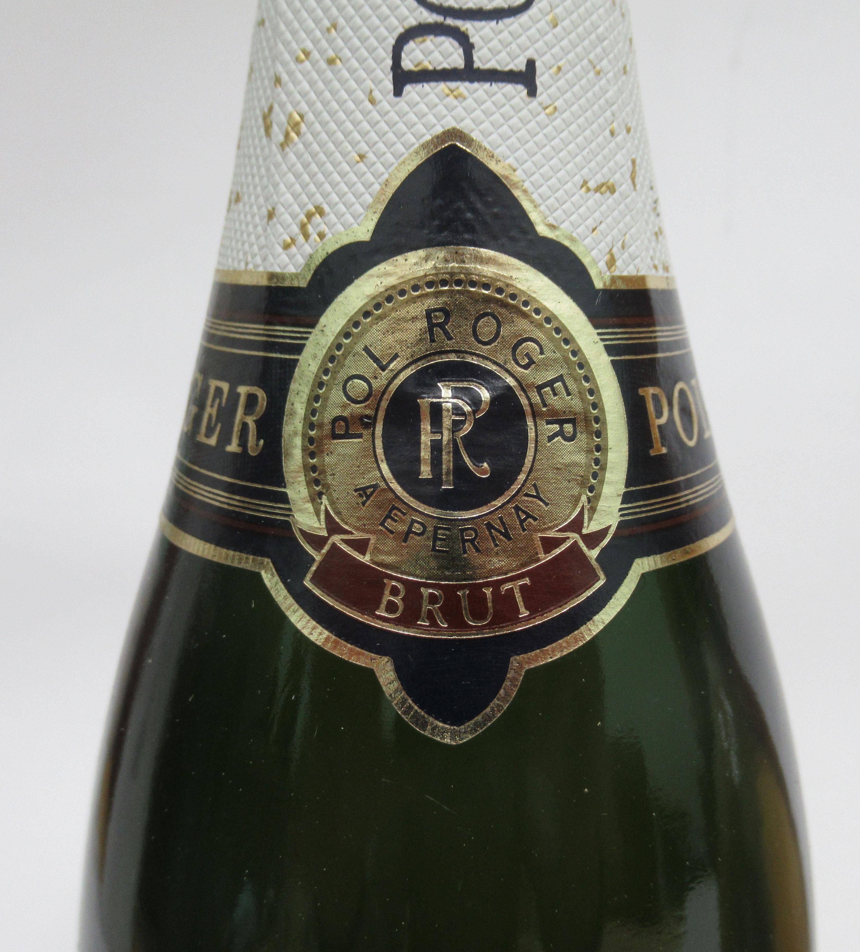 Wine, Champagne, viz. a Pol Roger; a Ruinart Blanc de Blancs; and a 1996 Bruno Paillard each boxed - Image 3 of 6