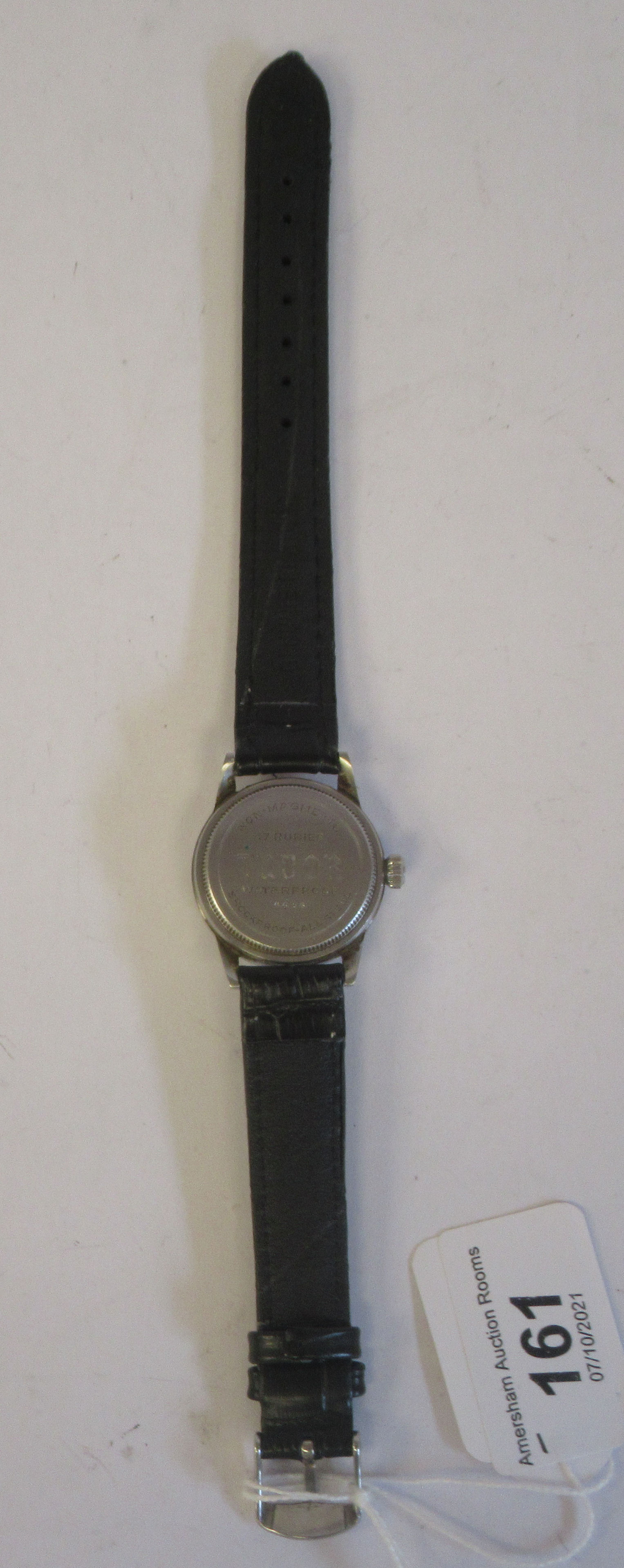 A 1940s boys Tudor Rolex Oyster Junior Sport stainless steel cased wristwatch, model 4454, the - Image 5 of 5