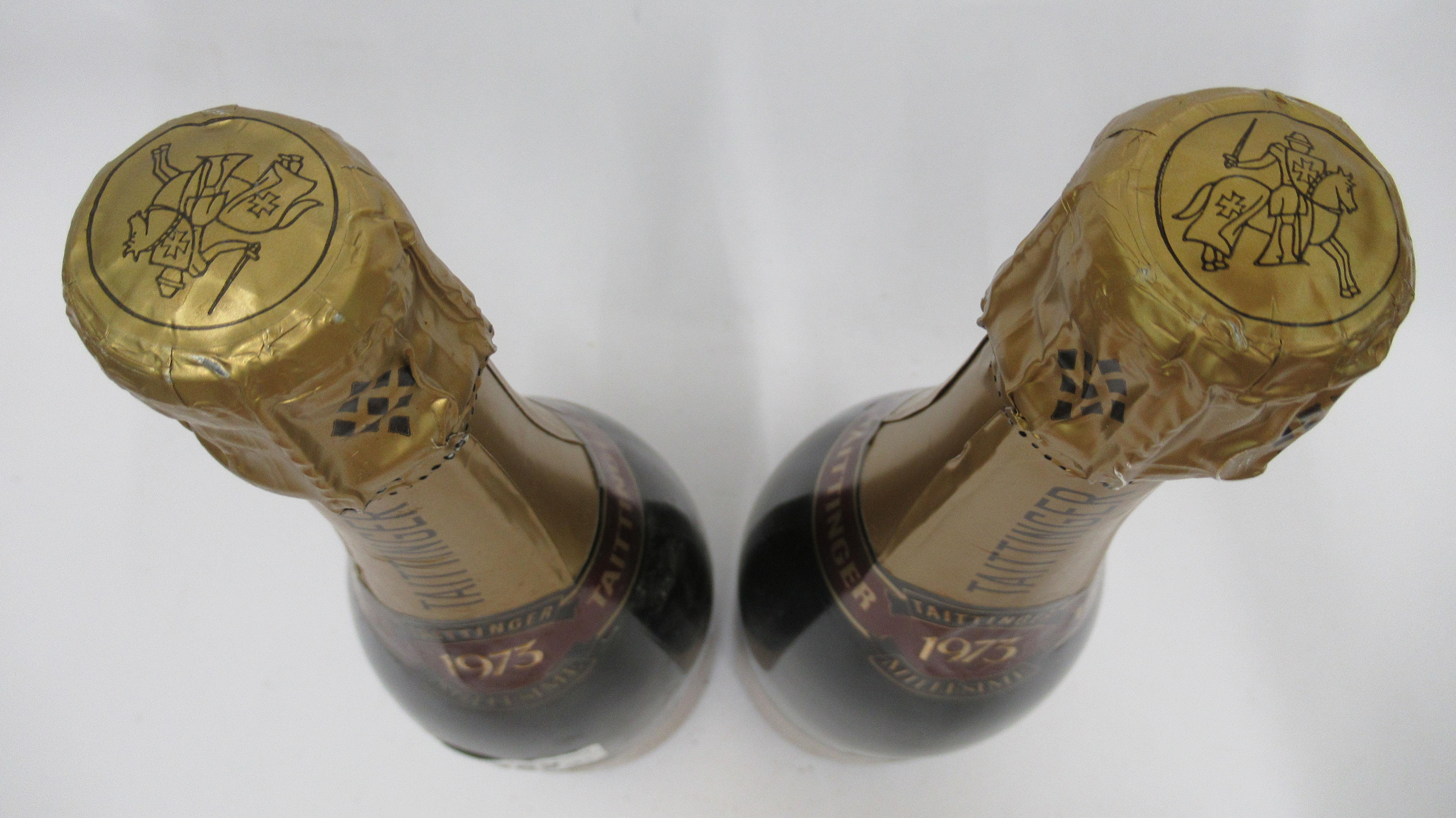 Wine, two bottles of 1973 Taittinger Millesime Champagne - Image 3 of 3