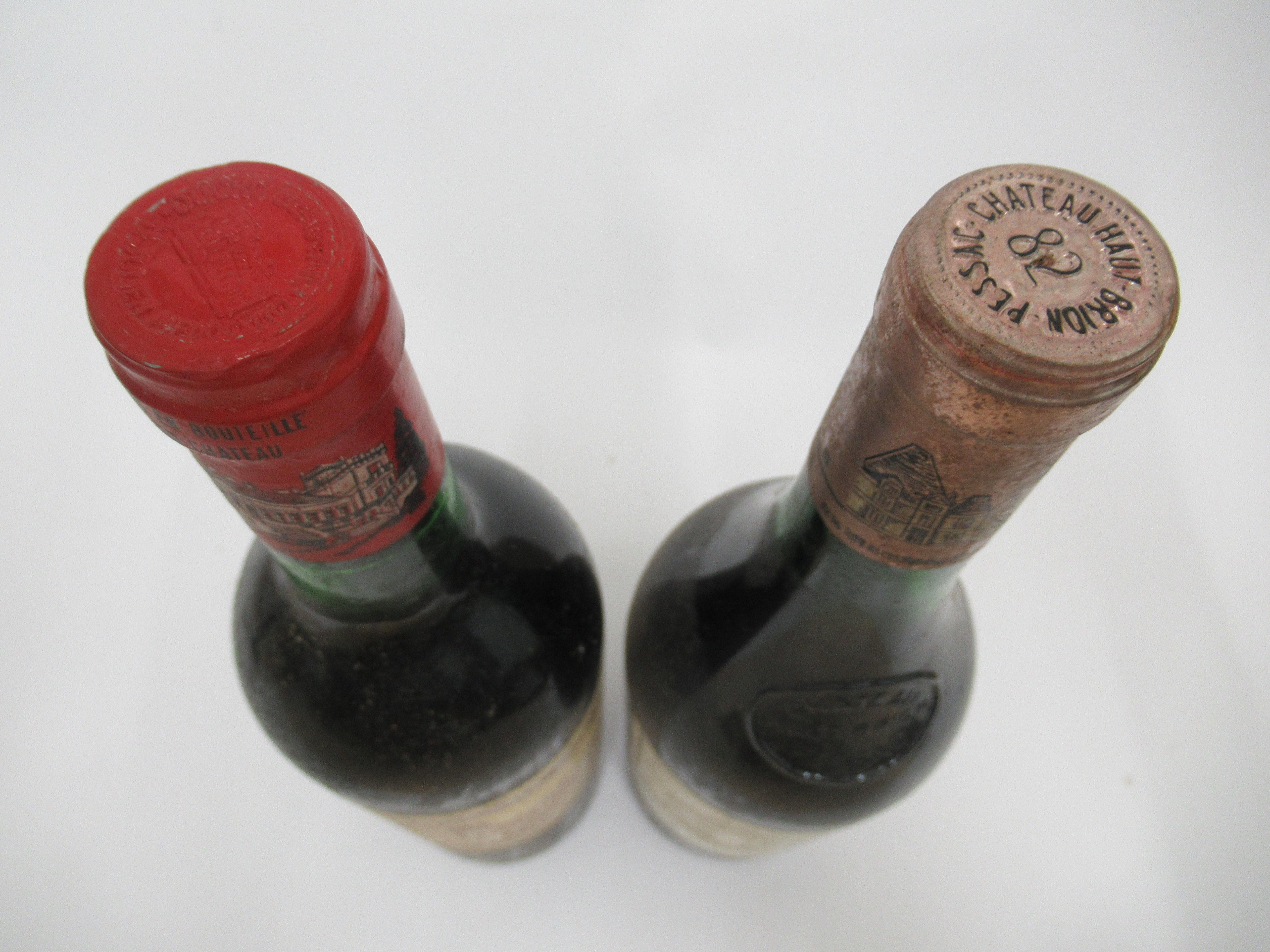 Wine, viz. a 1976 Chateau Ducru Beaucaillou; a 1989 Domaine de Trevelin; and a 1982 Chateau Haut- - Image 3 of 3
