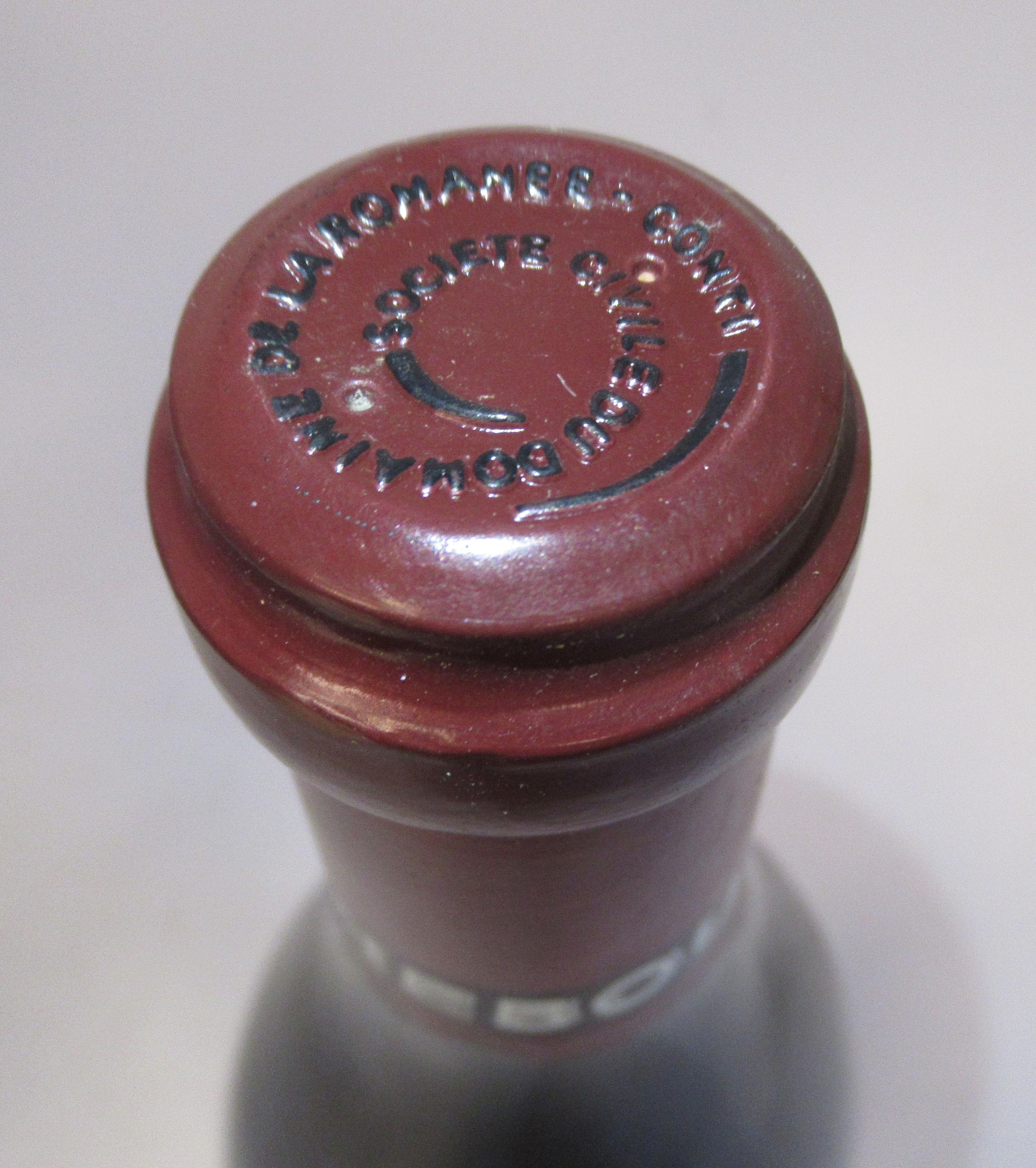 Wine, a bottle of 1996 Richebourg Domaine De La Romanee-Conti (bottle number 04822) - Image 3 of 3