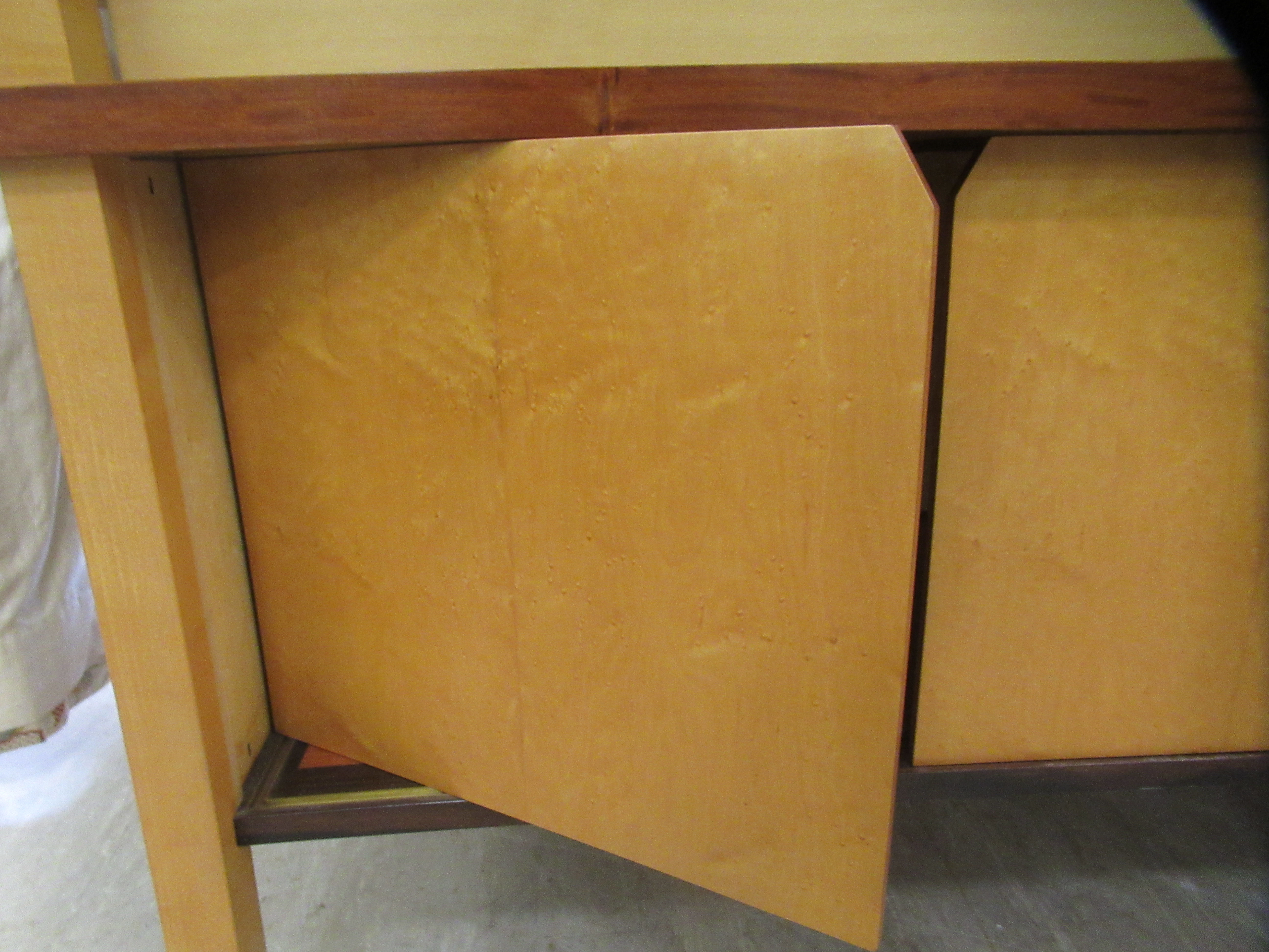 A 1960sJohn Makepeace OBE sideboard, constructed in sycamore, Andaman padauk and holly, - Image 10 of 12