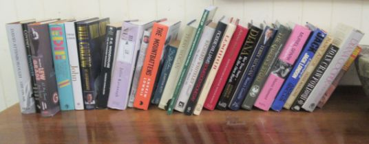 Books, biographies and autobiographies: to include 'Eddie' by Jean Stein; and 'John' by Cynthia