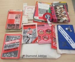20thC ephemera, post World War II programmes: to include Concorde, Speedway and Royal events