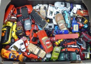 Uncollated diecast model vehicles, recovery, emergency services, sports cars and convertibles: to