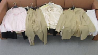 Jaeger fashions: to include blouses, a suit jacket and skirts size 16-18