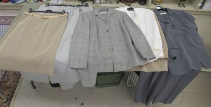 Jerry Weber fashion: to include two piece suits and blouses approx. size 18